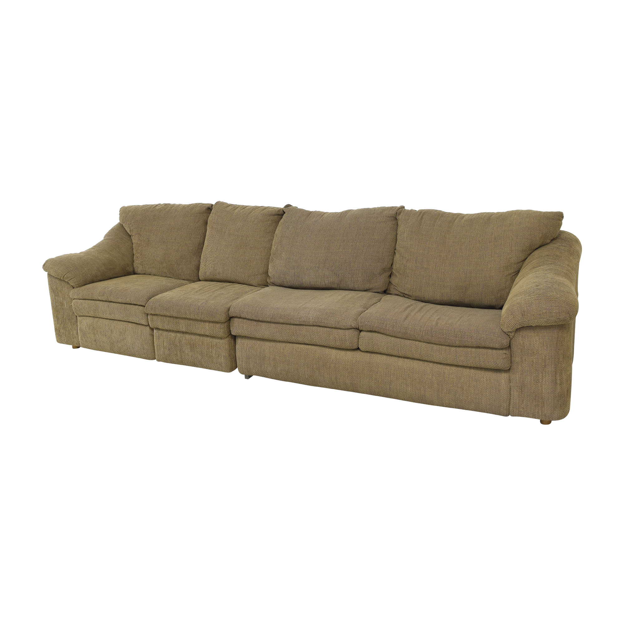Raymour & Flanigan Raymour & Flanigan Sleeper Sofa with Ottoman price