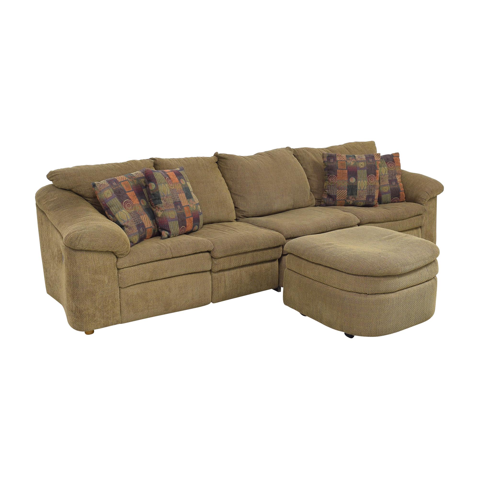 buy Raymour & Flanigan Sleeper Sofa with Ottoman Raymour & Flanigan Sofas