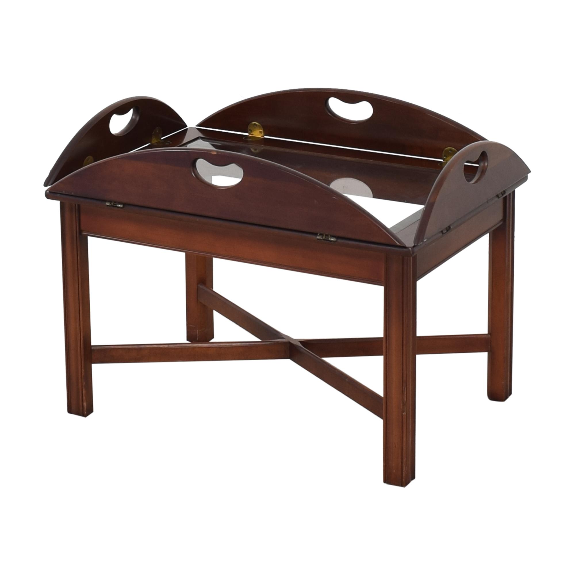 Huffman Koos Huffman Koos Fold Down Coffee Table on sale
