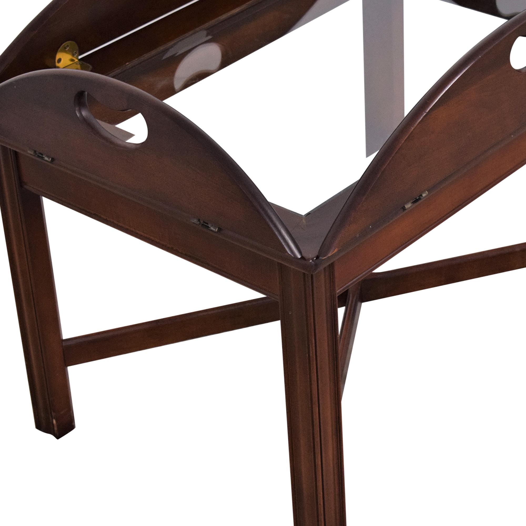 Huffman Koos Huffman Koos Fold Down Coffee Table dimensions