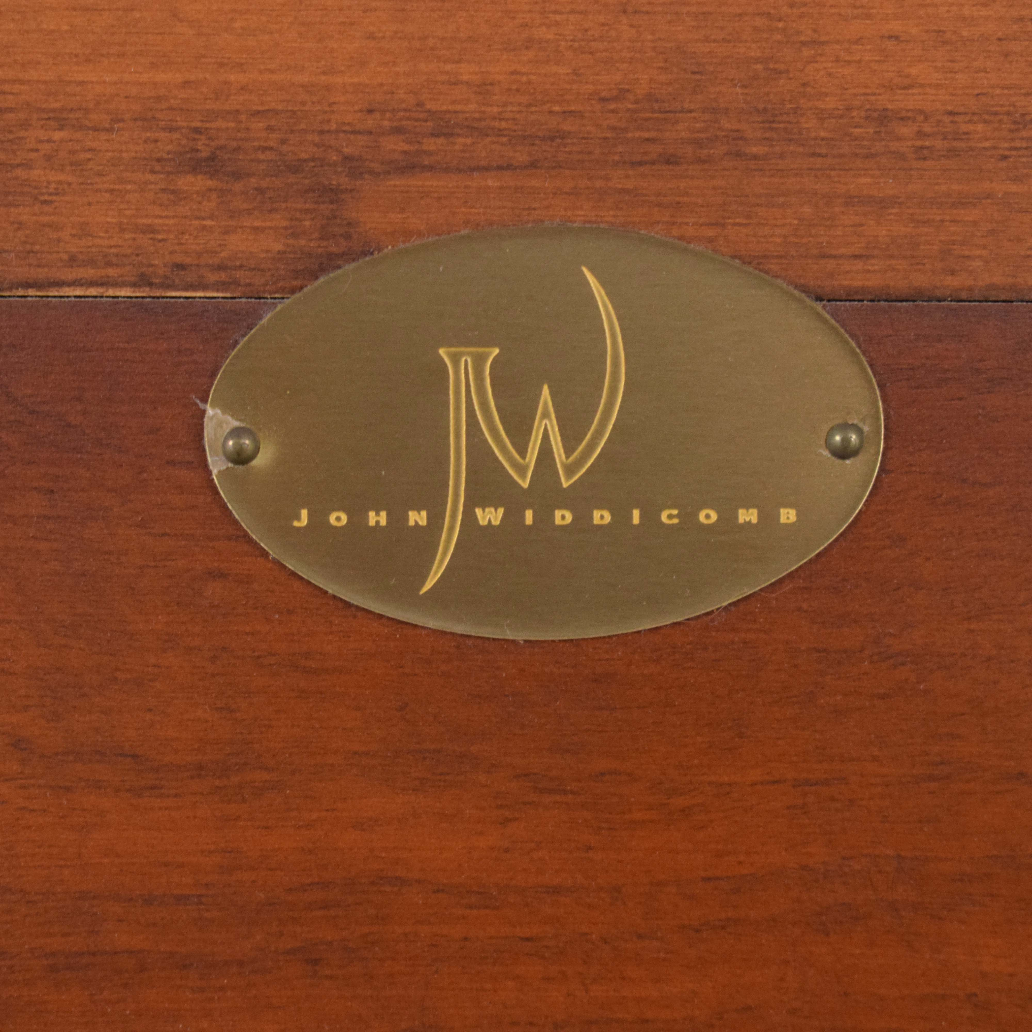 John Widdicomb Cabinet with Lights / Storage