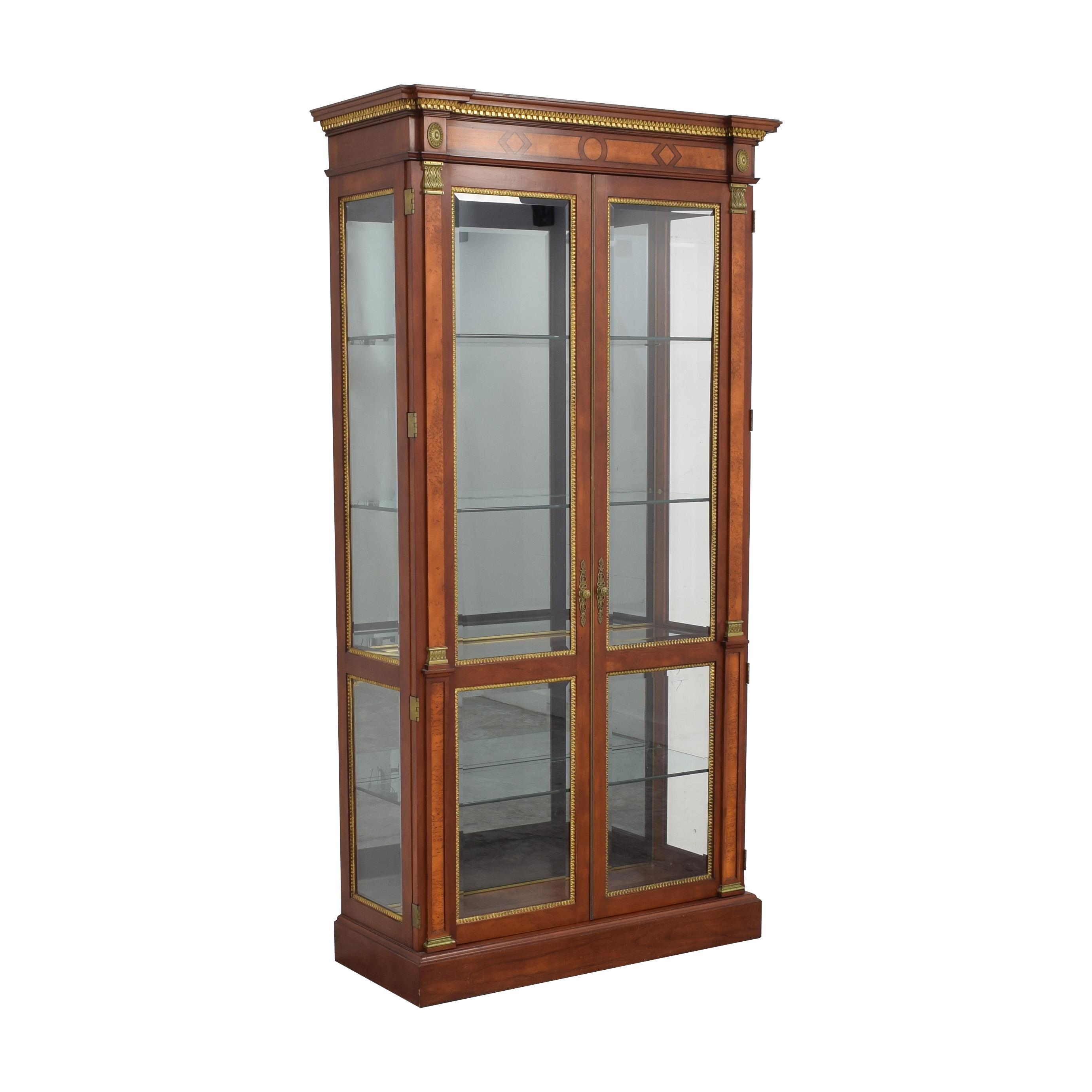 John Widdicomb Co. John Widdicomb Cabinet with Lights Cabinets & Sideboards