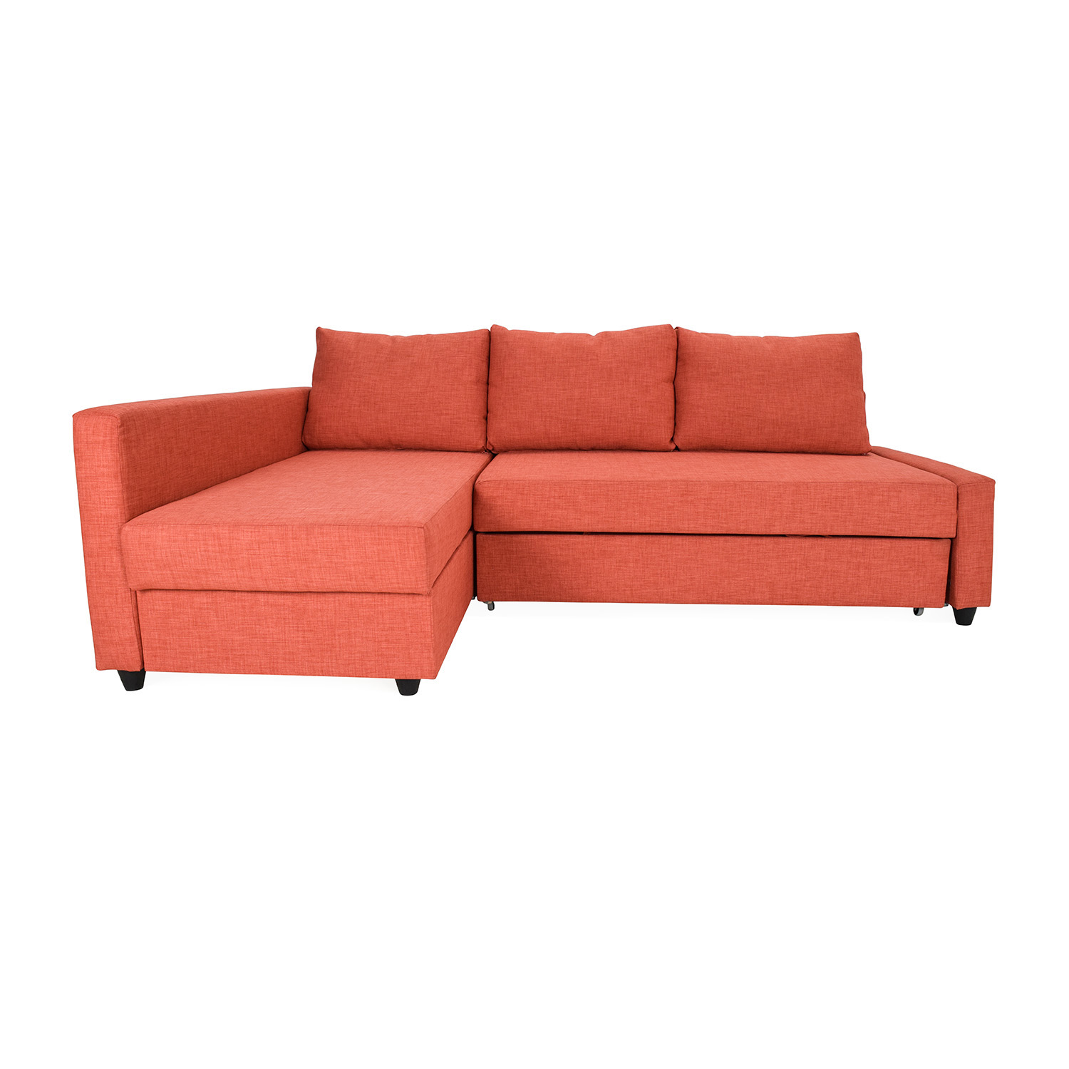 49 off ikea friheten sofa bed with chaise sofas for Chaise bed sofa