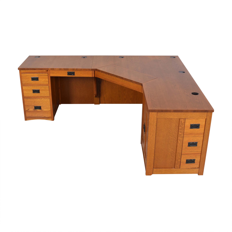 American Woodcrafters American Woodcrafters Mission-Style Desk ct
