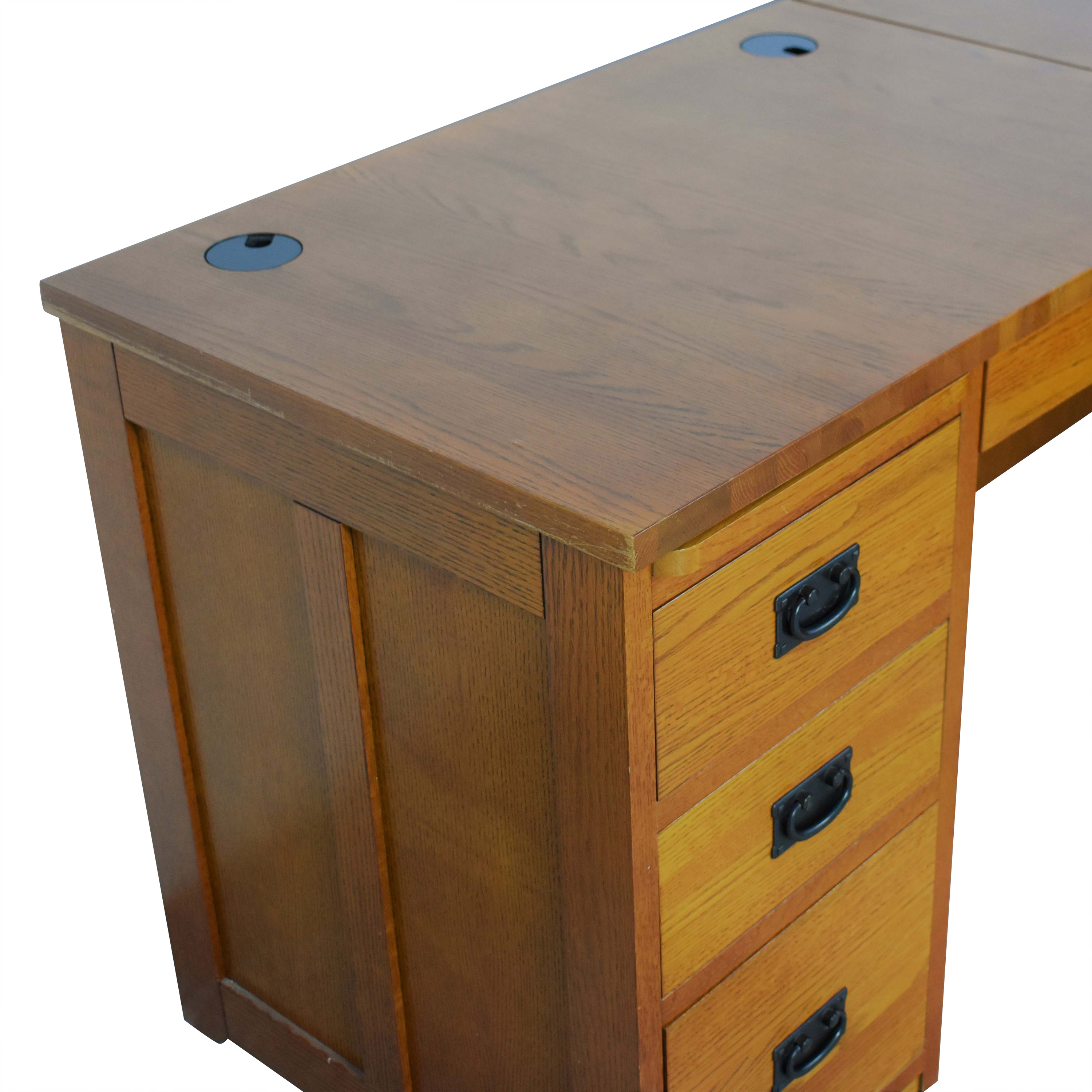 shop American Woodcrafters Mission-Style Desk American Woodcrafters Home Office Desks
