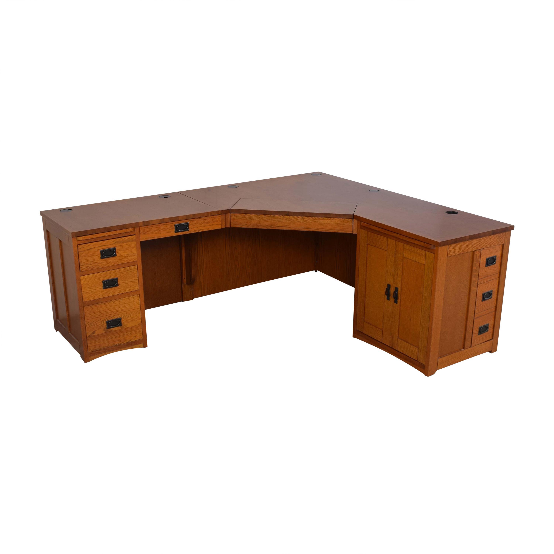American Woodcrafters American Woodcrafters Mission-Style Desk nyc