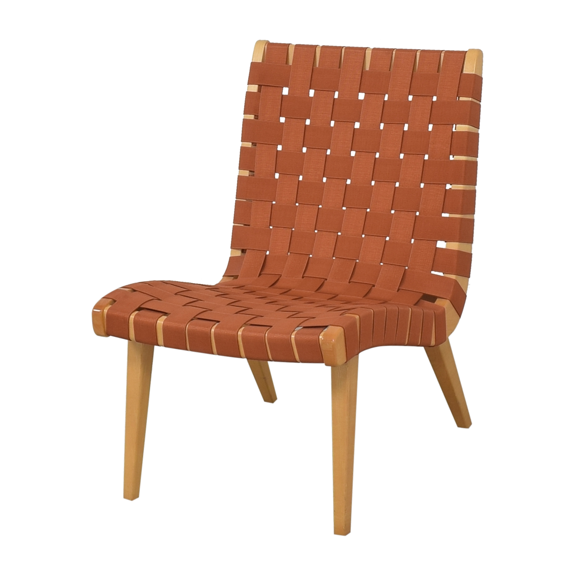 Knoll Knoll Jens Risom Lounge Chair orange and light brown