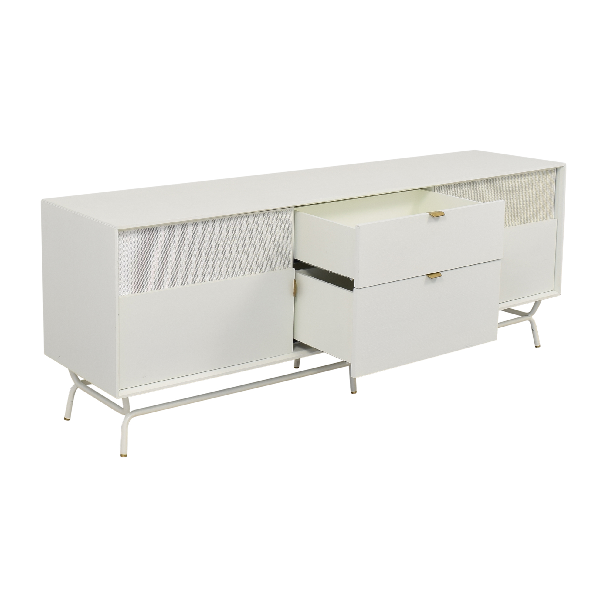 Blu Dot Blu Dot Dang 2 Door / 2 Drawer Console Storage