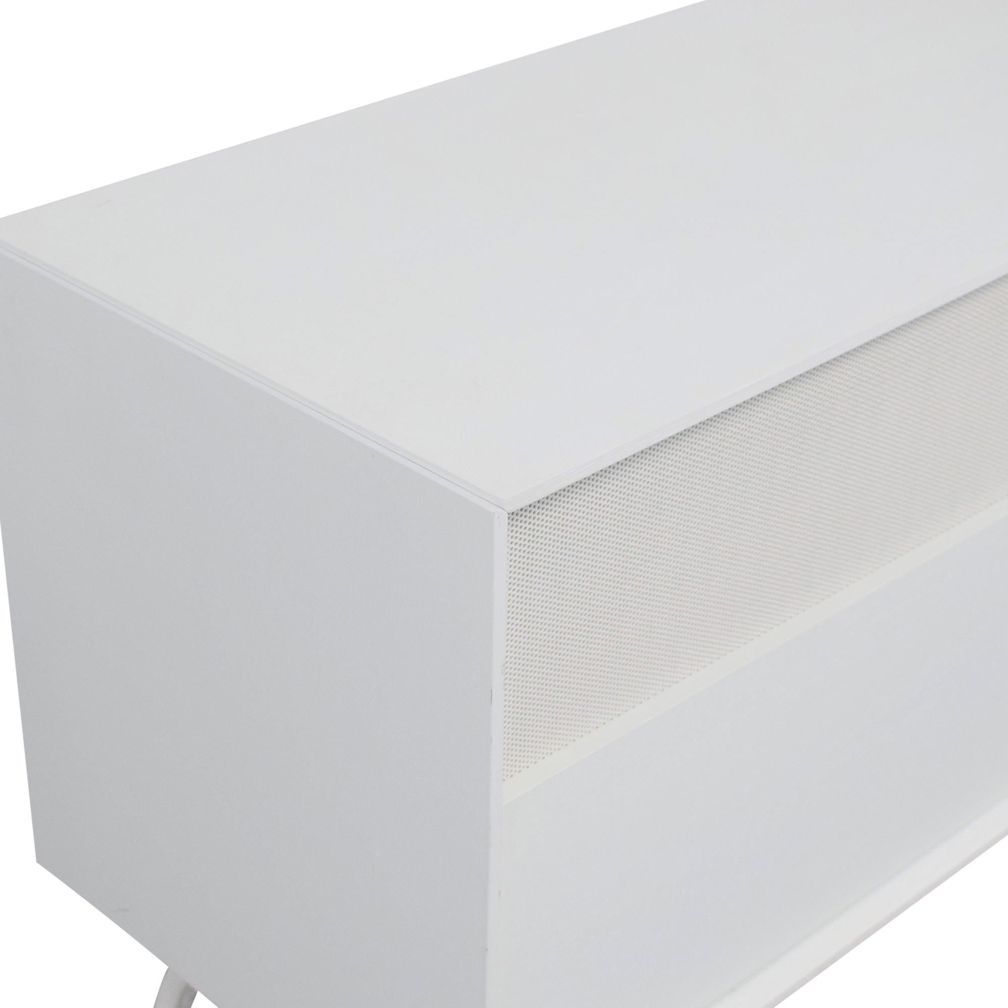 Blu Dot Blu Dot Dang 2 Door / 2 Drawer Console dimensions