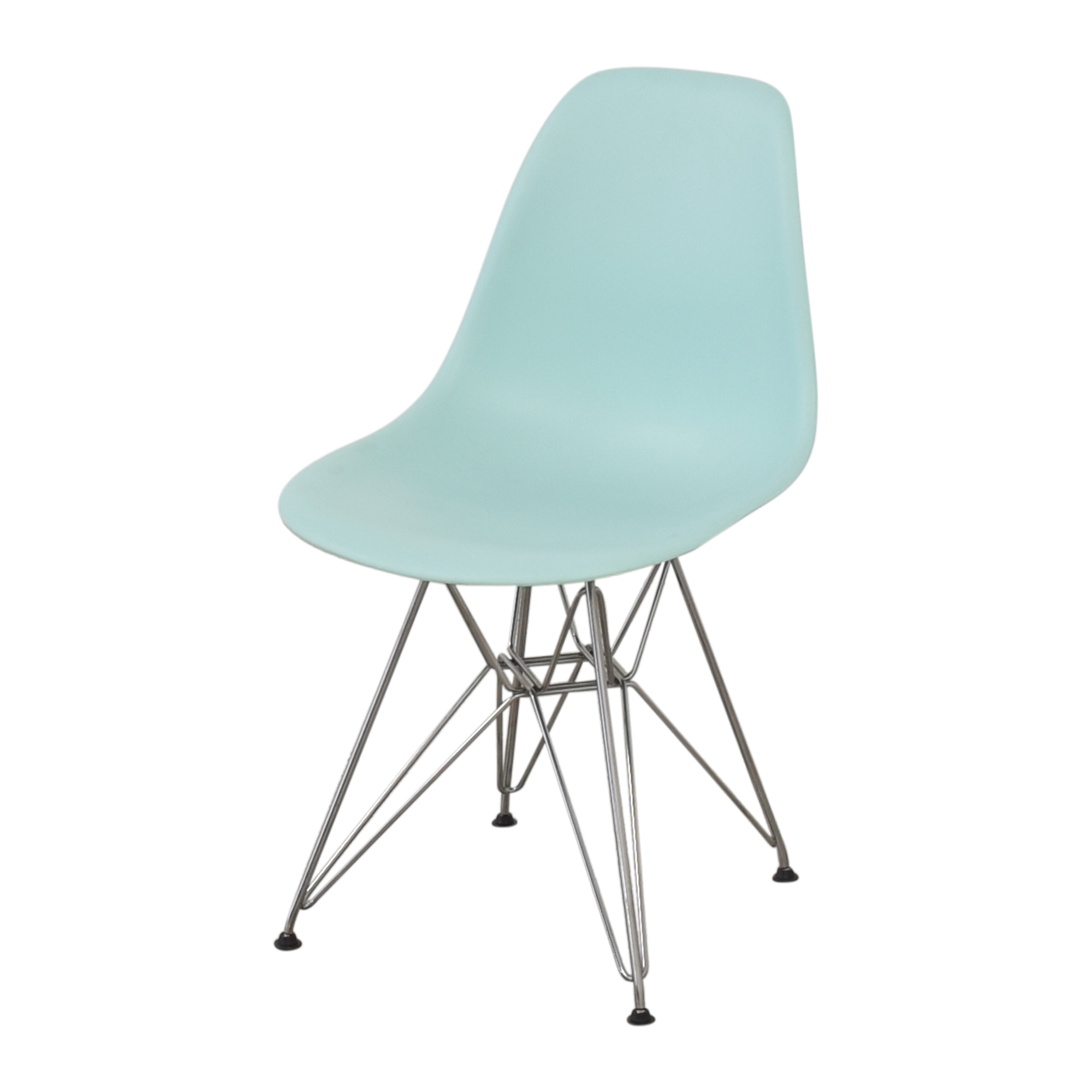 buy Herman Miller Eames Molded Plastic Wire-Base Side Chairs Herman Miller Dining Chairs