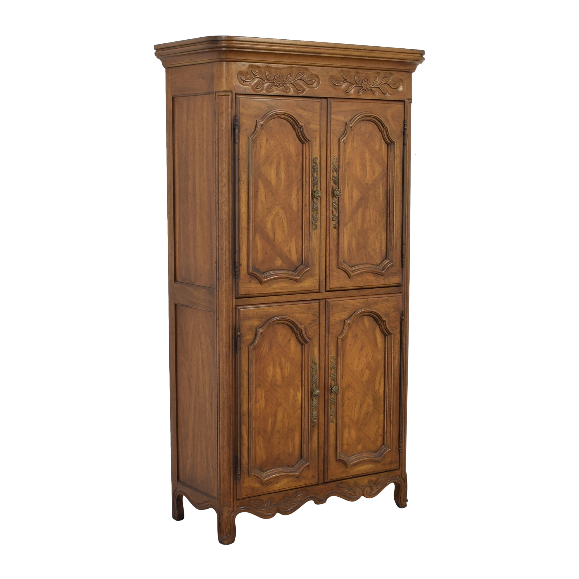 Drexel Drexel Armoire with Cabinets used