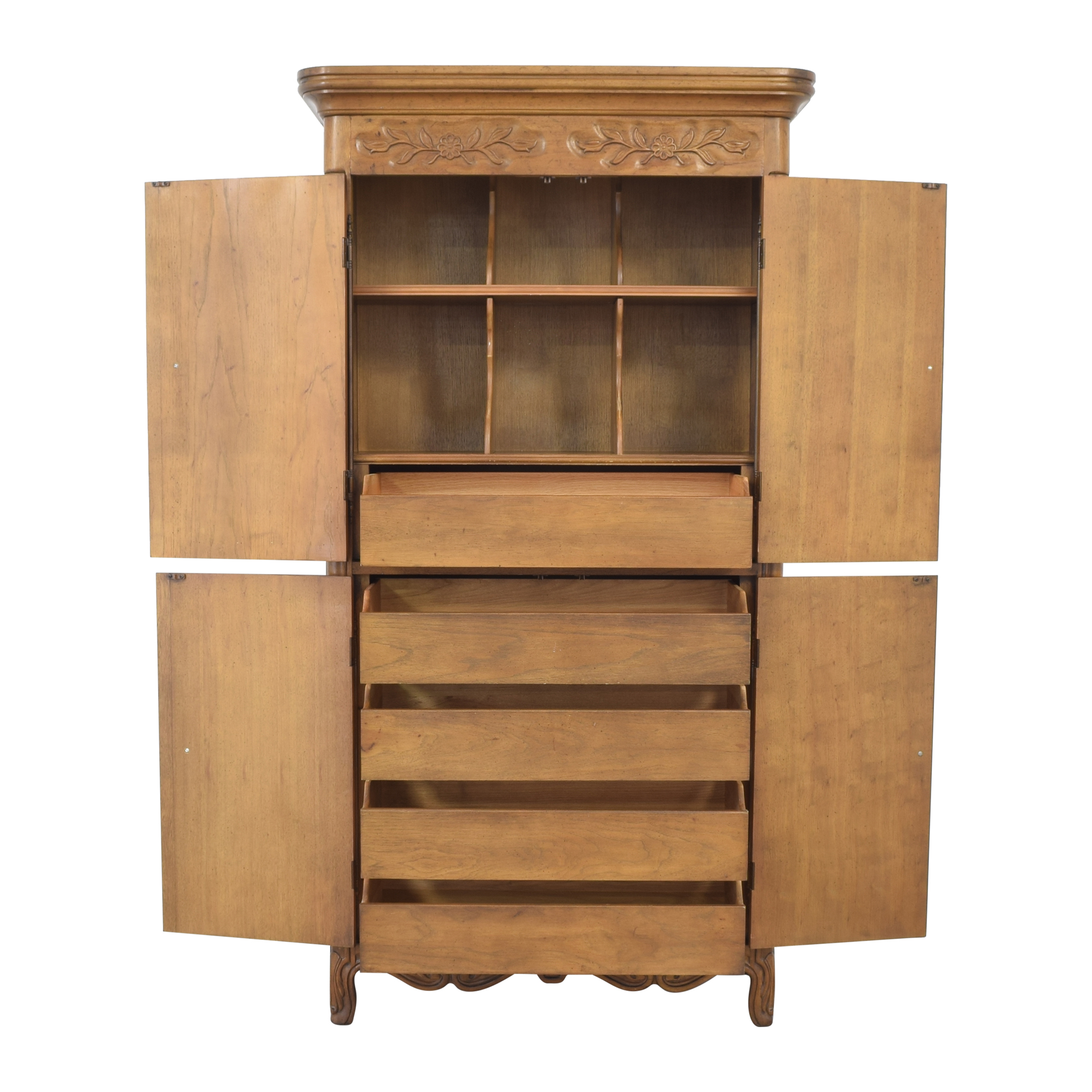 buy Drexel Armoire with Cabinets Drexel Wardrobes & Armoires