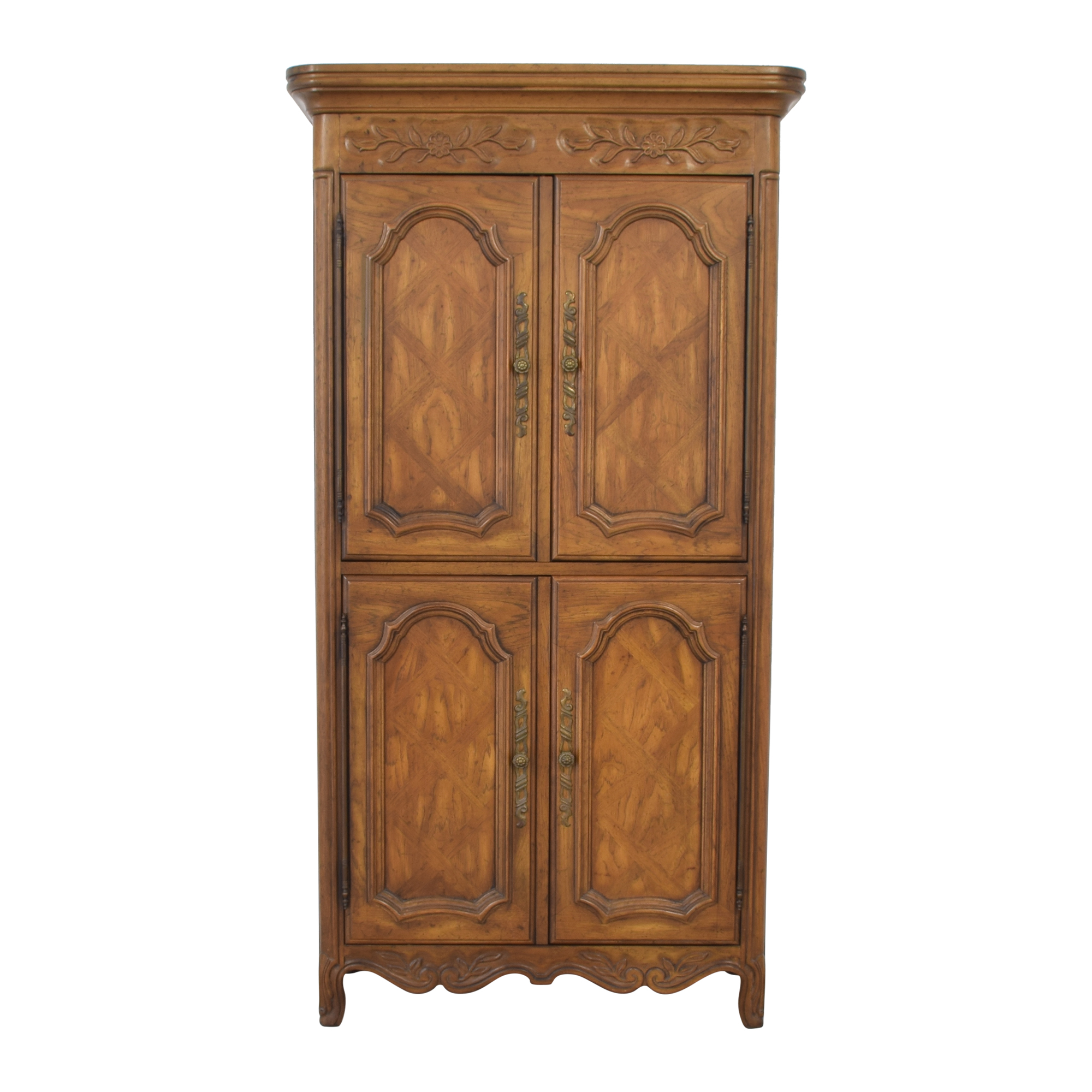 Drexel Drexel Armoire with Cabinets dimensions