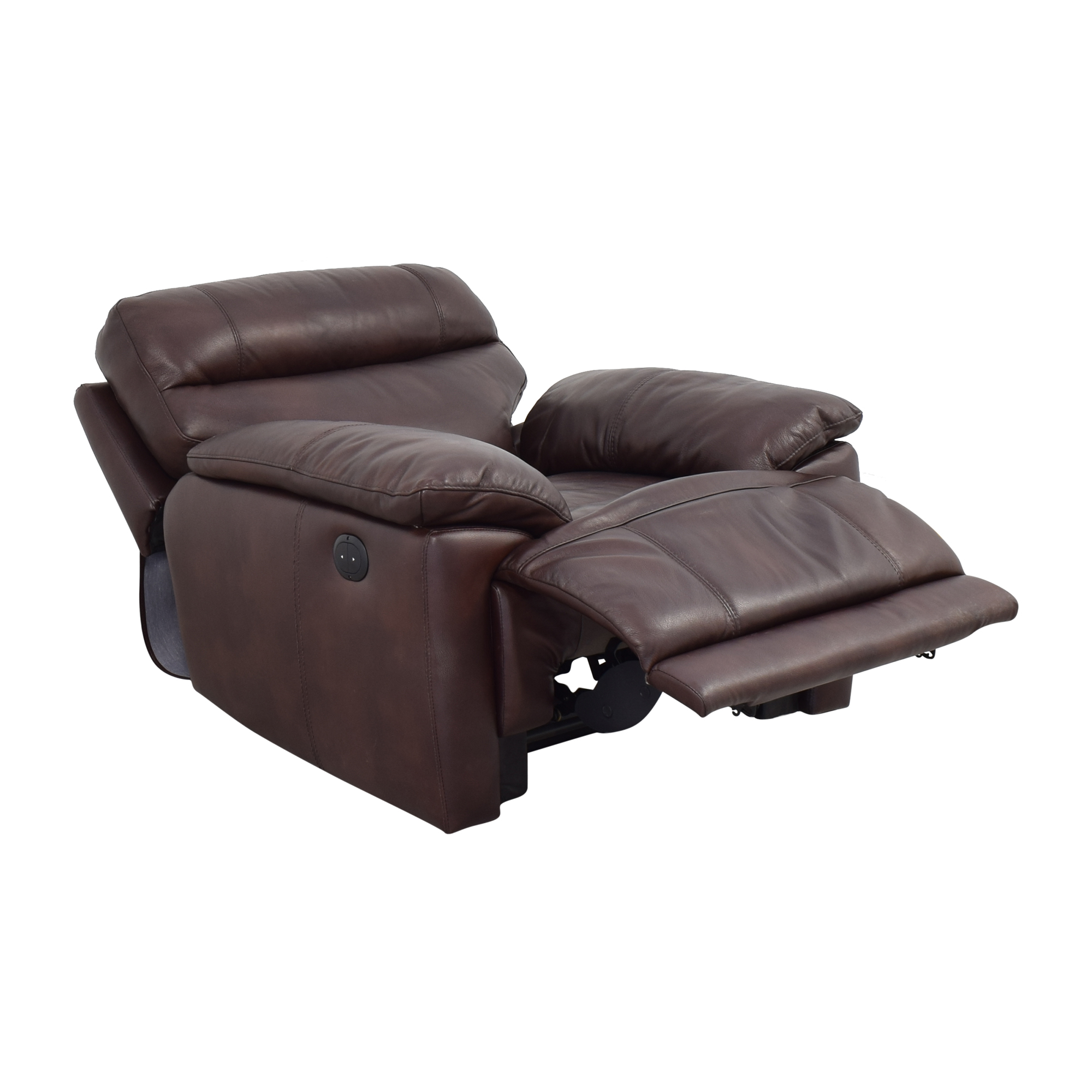 Raymour & Flanigan Raymour & Flanigan Power Recliner discount