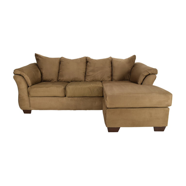 Jennifer Furniture Reversible Chaise Couch