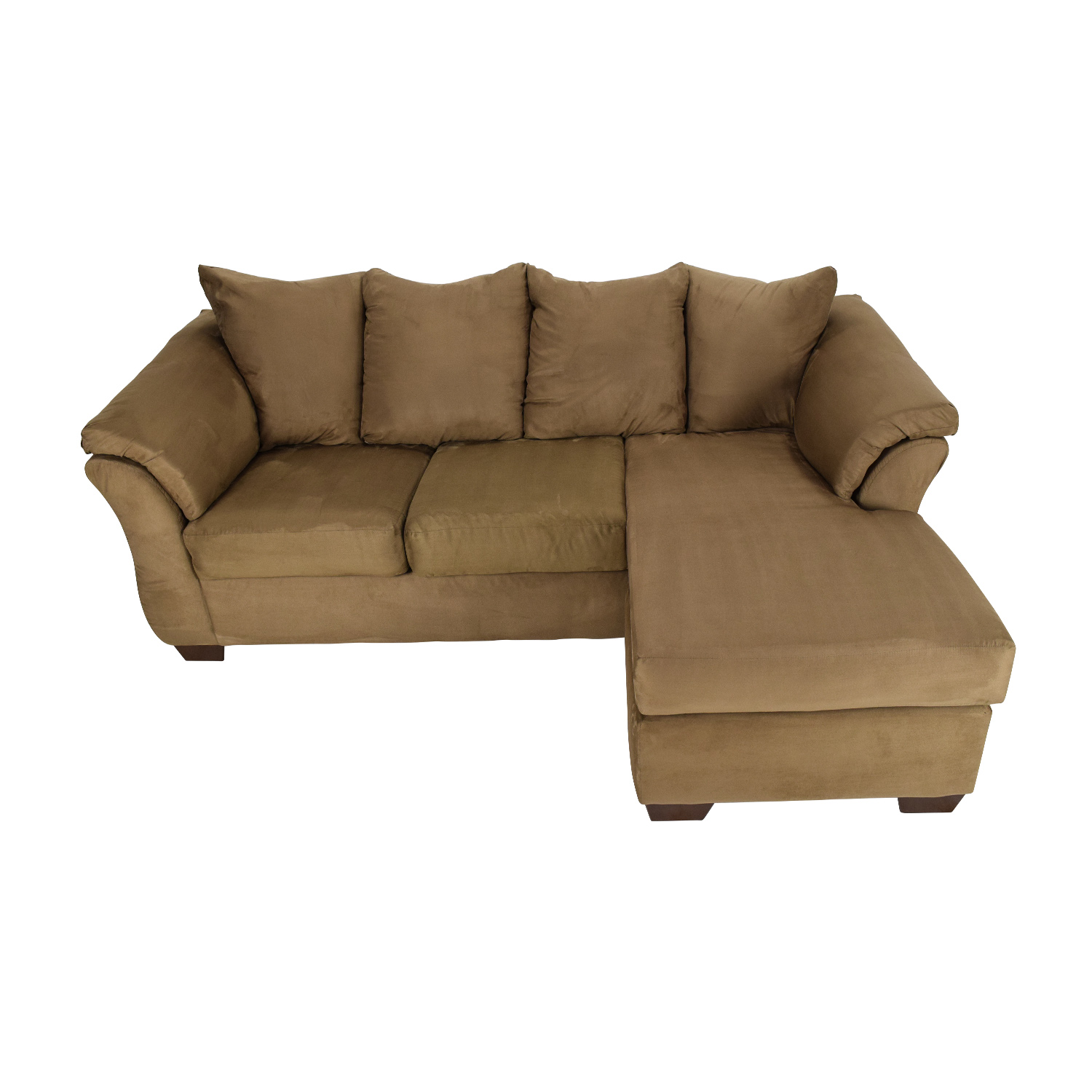 Jennifer Furniture Reversible Chaise Couch for sale
