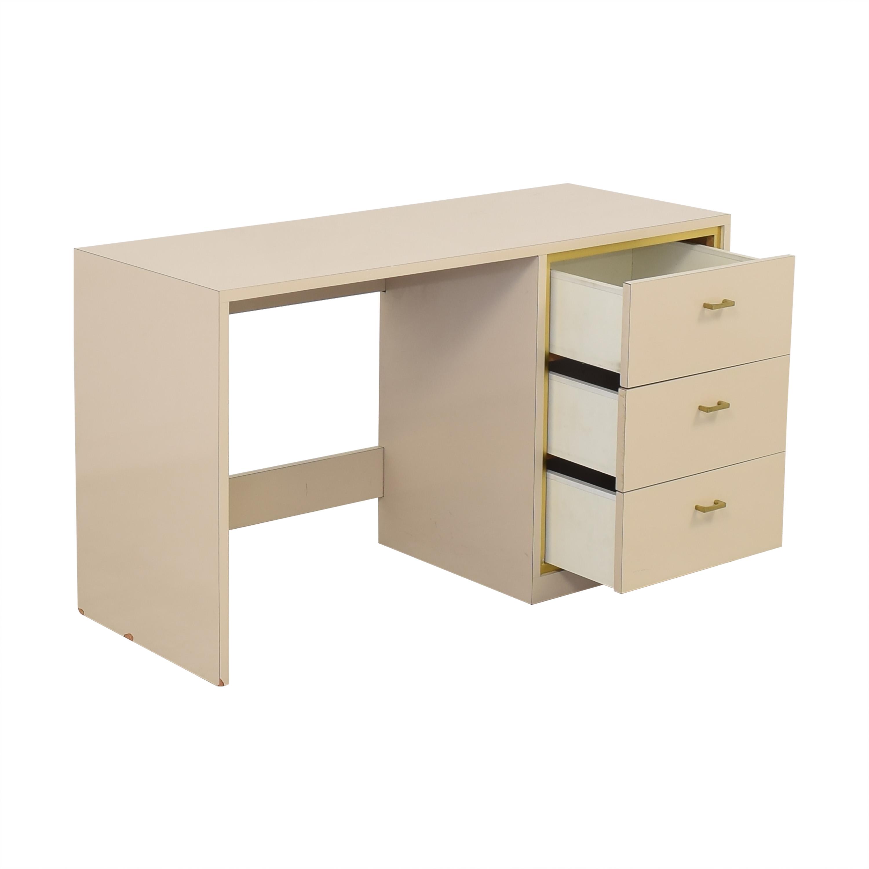 shop Custom Three Drawer Desk