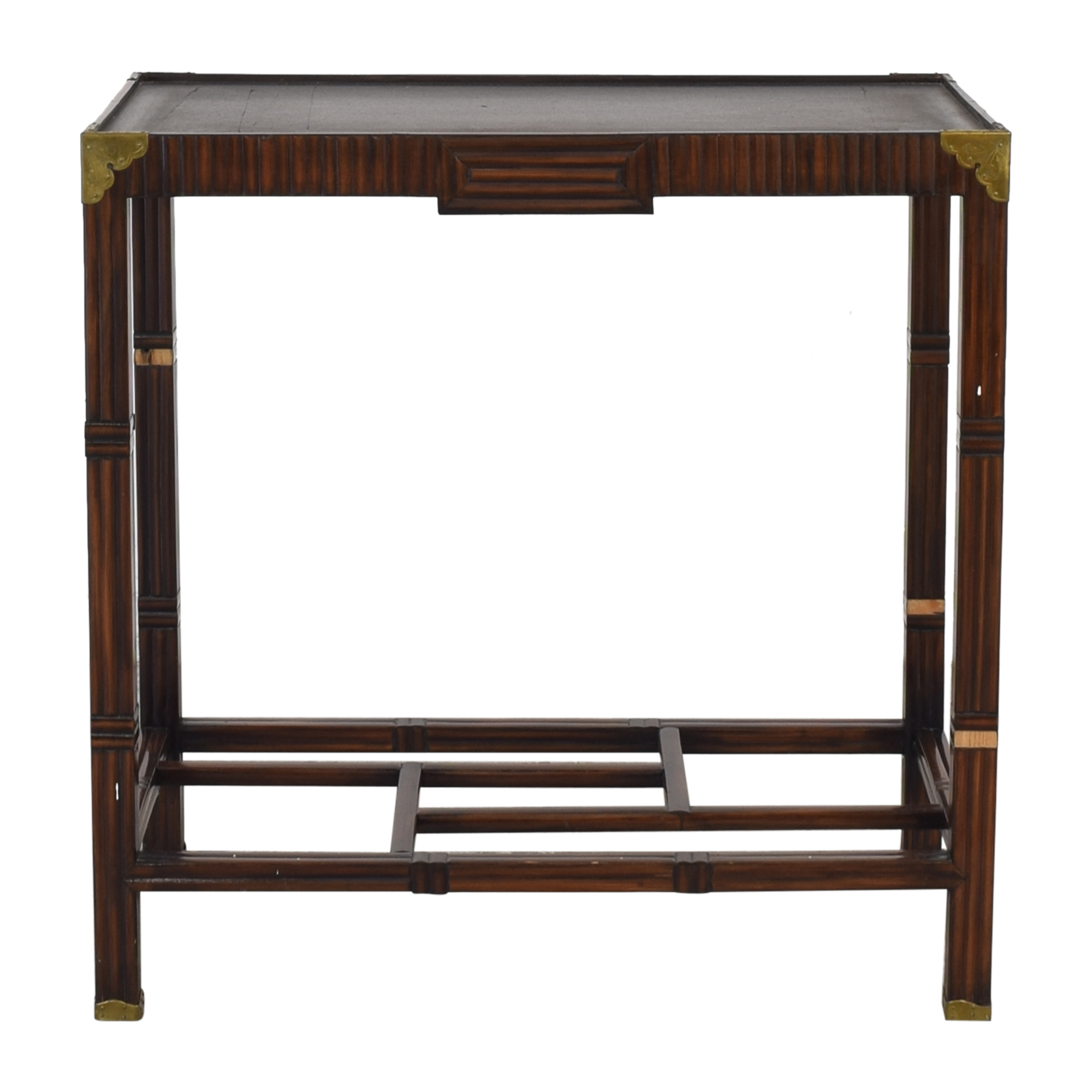 buy  Custom Campaign Style Accent Table online