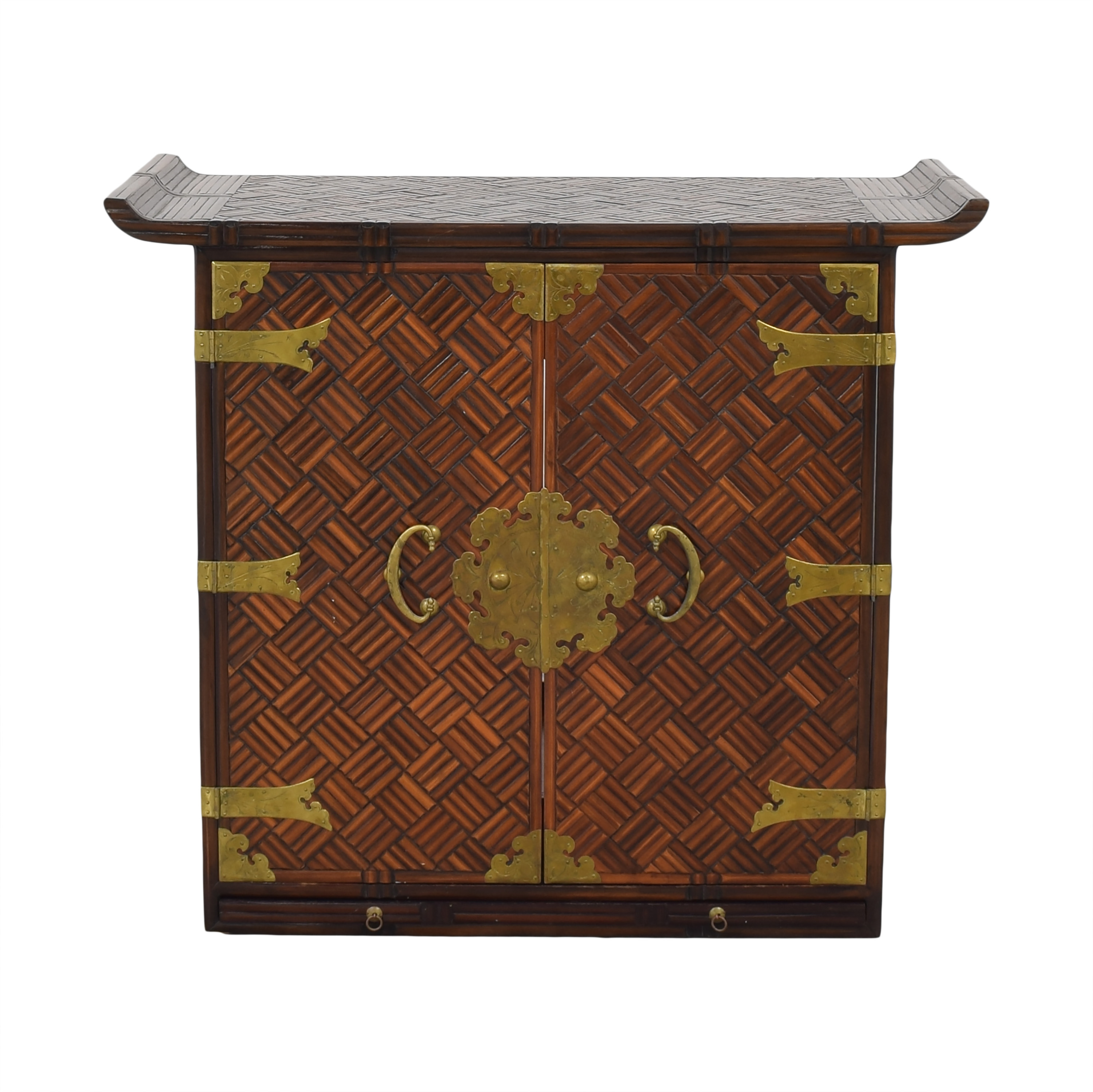 Custom Made Oriental Cabinet / Cabinets & Sideboards