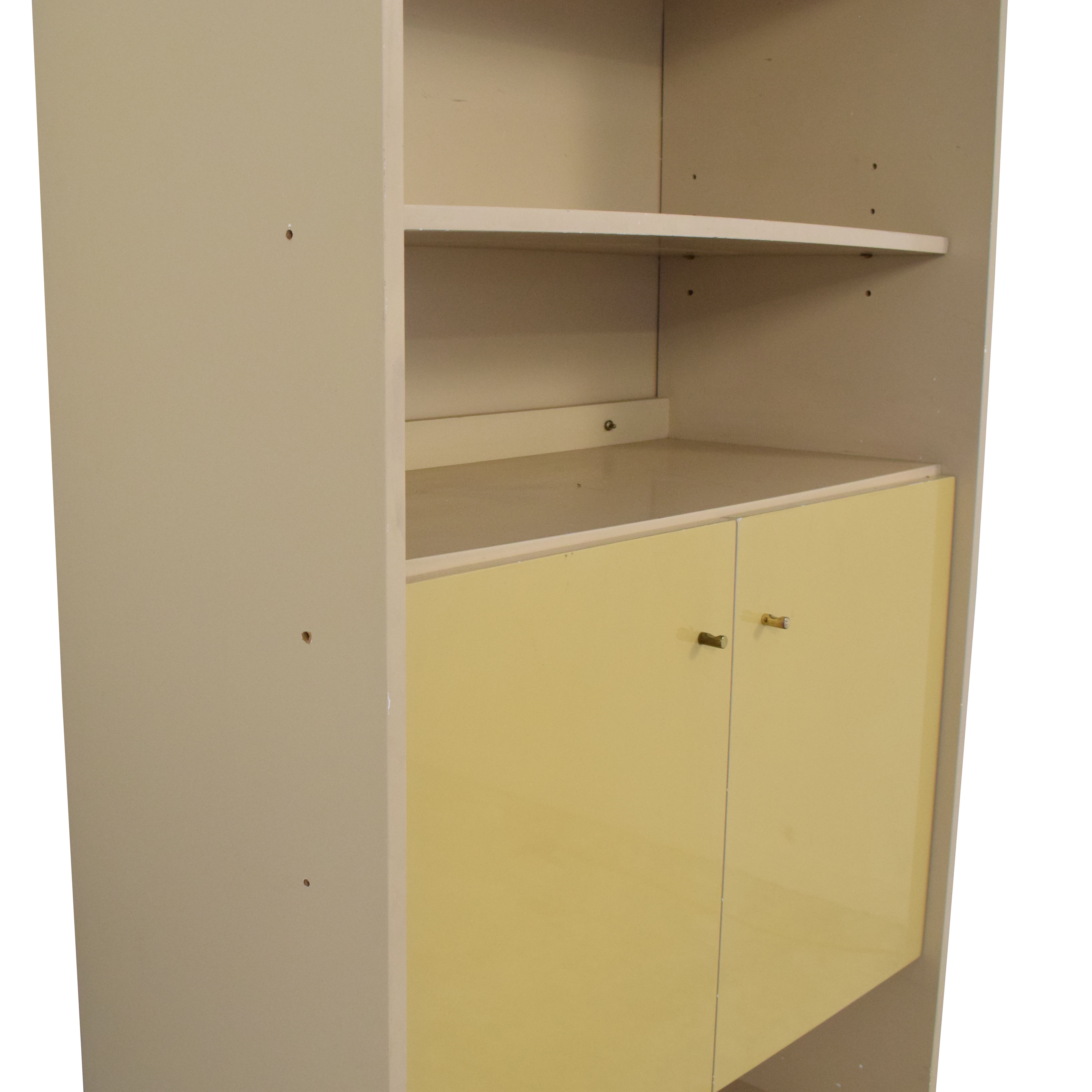 Custom Cabinet with Bookcase nyc