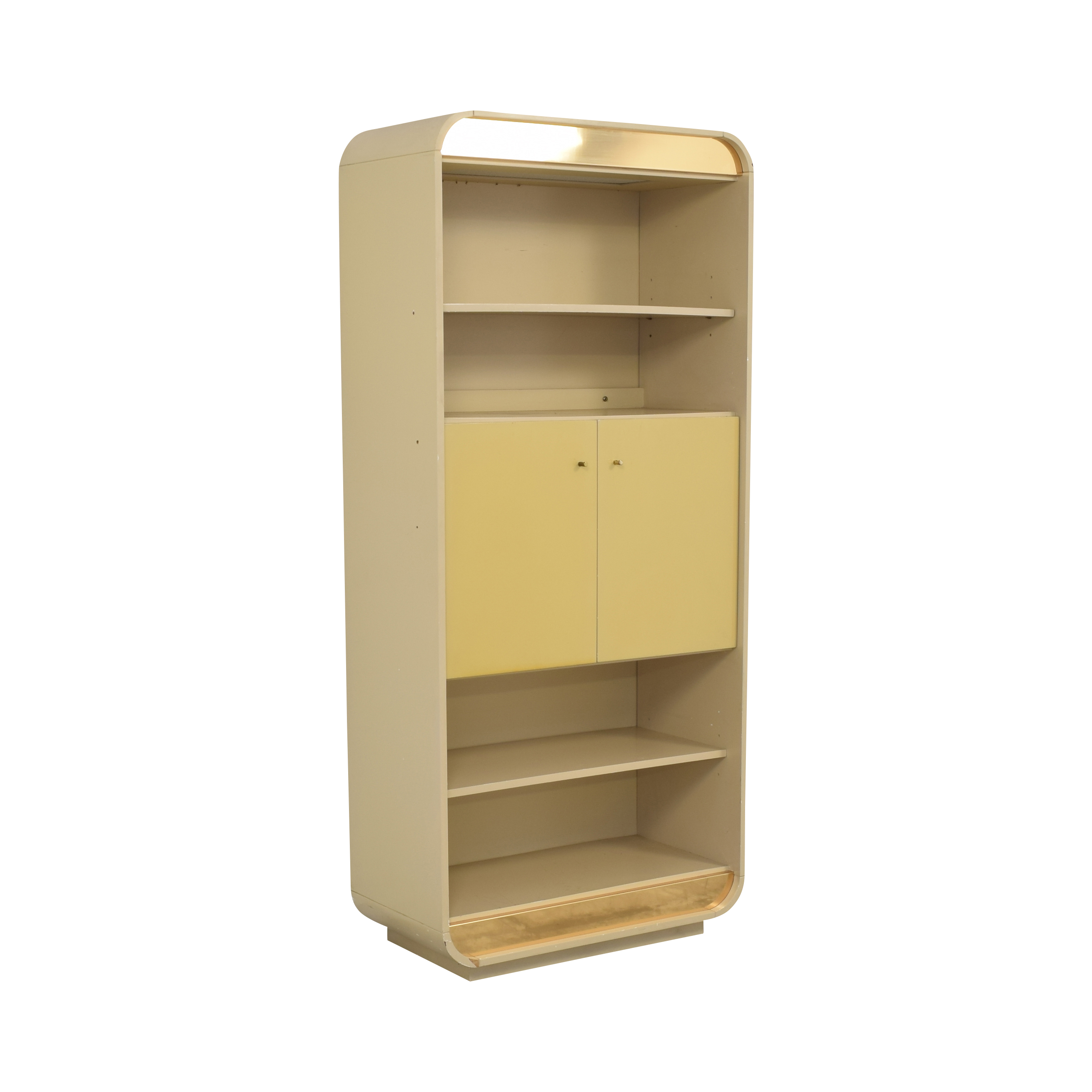Custom Cabinet with Bookcase ct