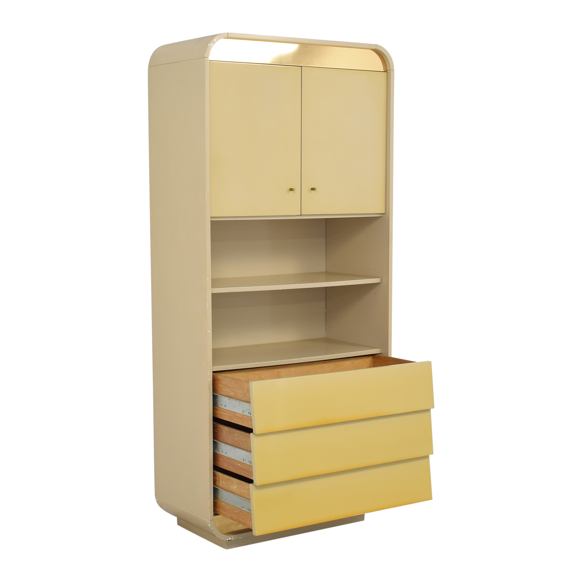 Custom Cabinet with Bookcase on sale