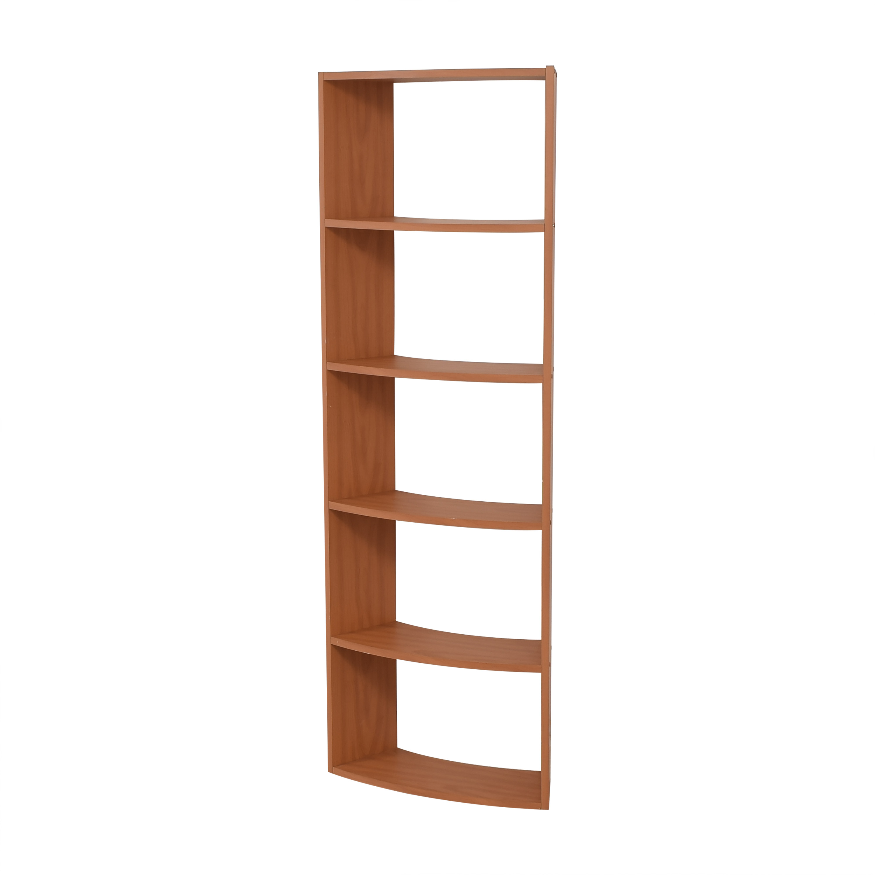 Curved Corner Bookcase pa