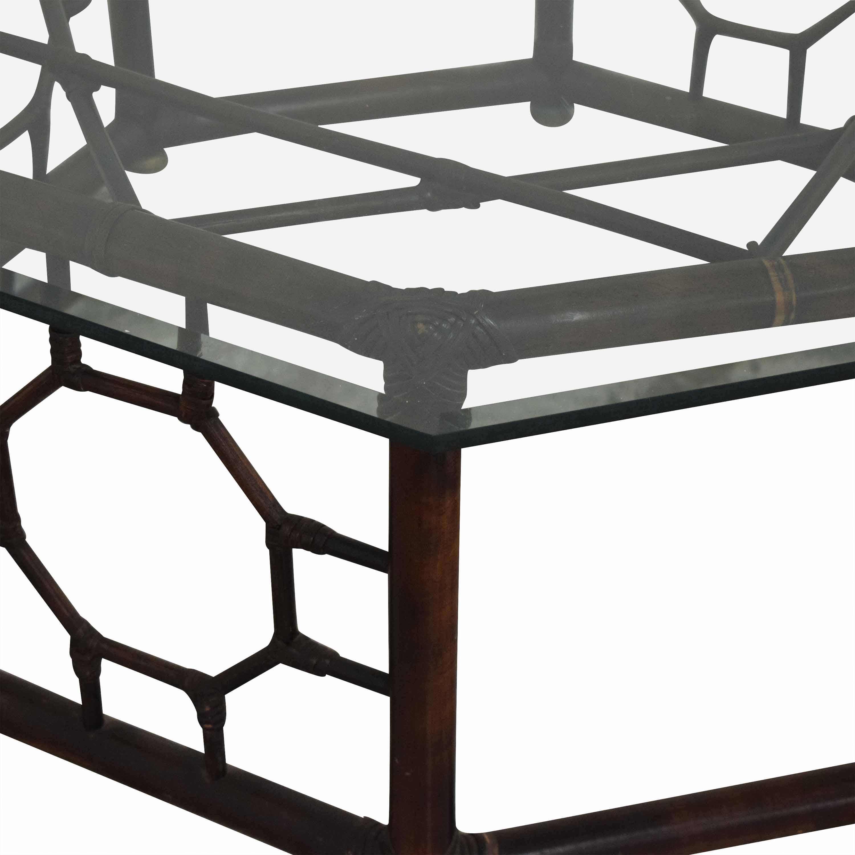 Hexagonal Base Coffee Table pa