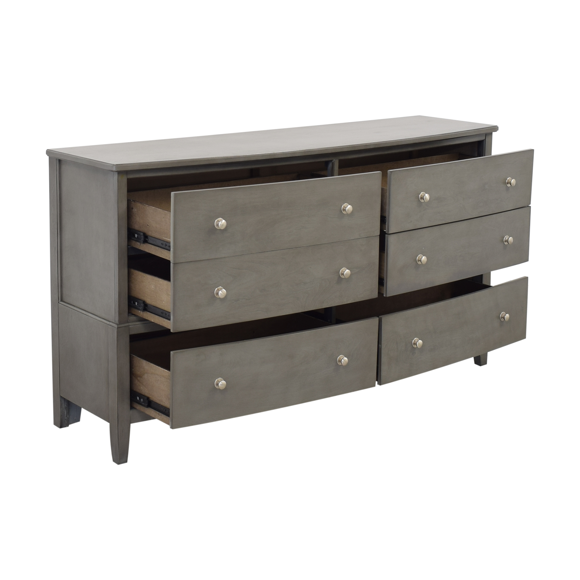 Raymour & Flanigan Raymour & Flanagan Six Drawer Dresser ma