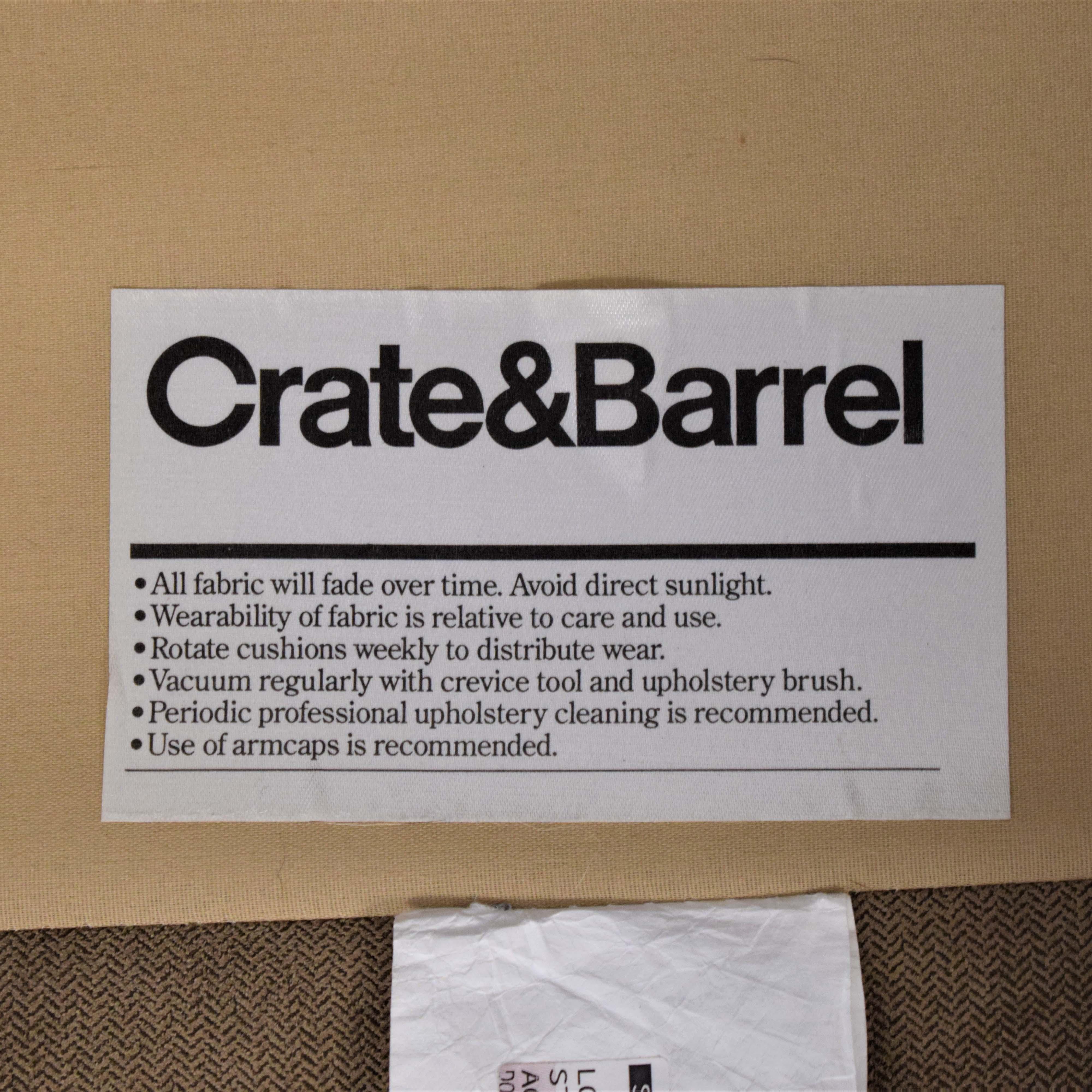 Crate & Barrel Crate & Barrel Axis II 3-Piece Sectional Sofa Sectionals