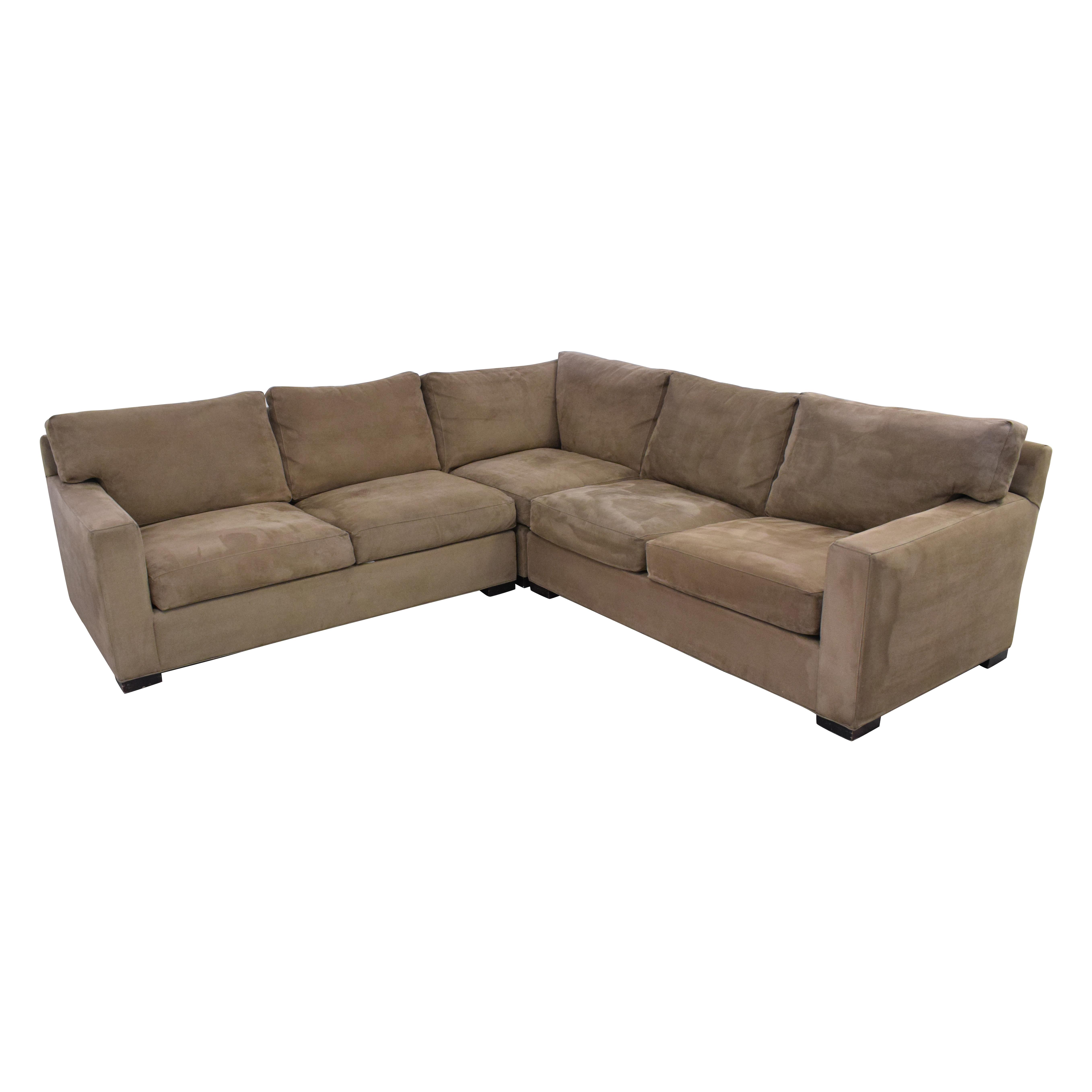 shop Crate & Barrel Crate & Barrel Axis II 3-Piece Sectional Sofa online