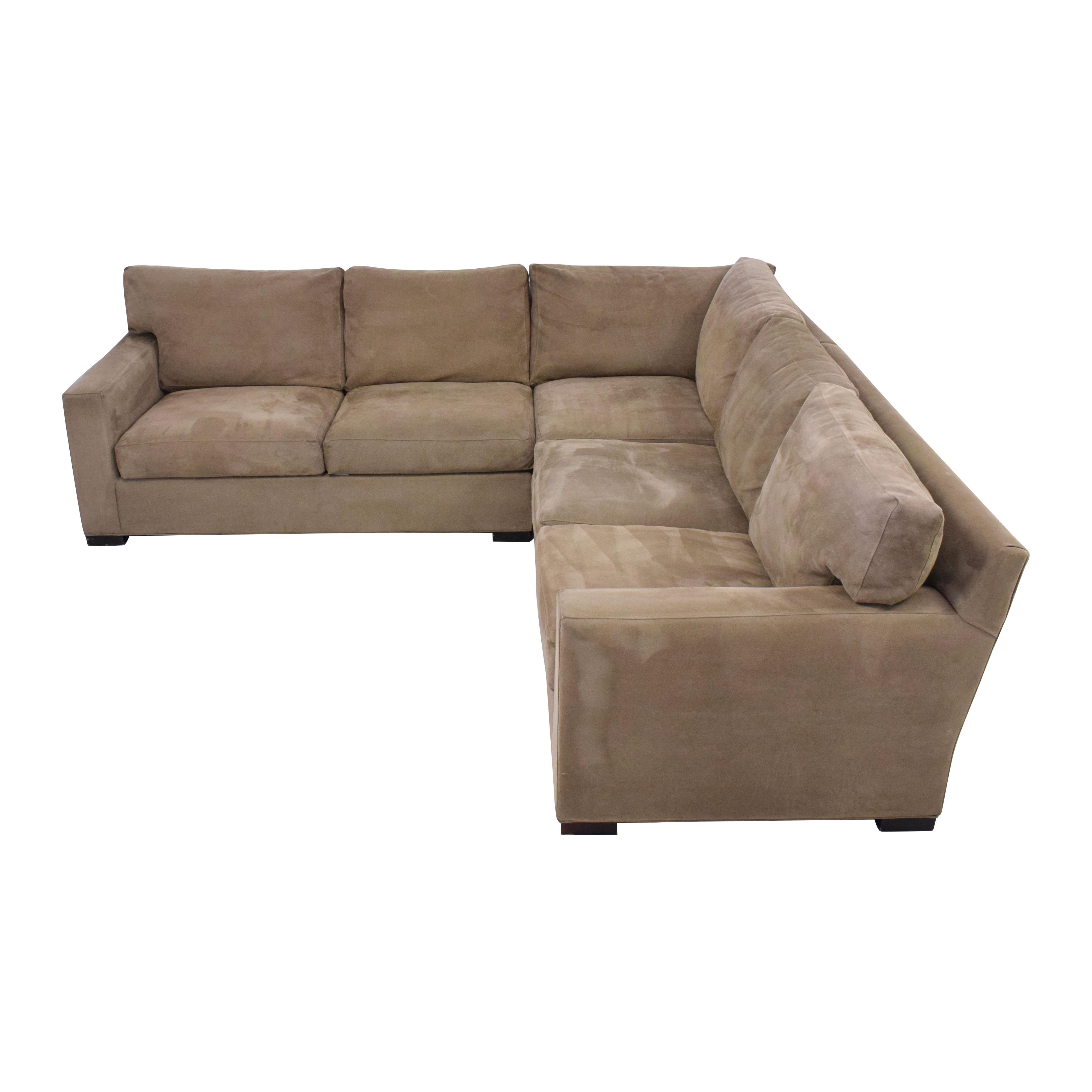 Crate & Barrel Crate & Barrel Axis II 3-Piece Sectional Sofa coupon