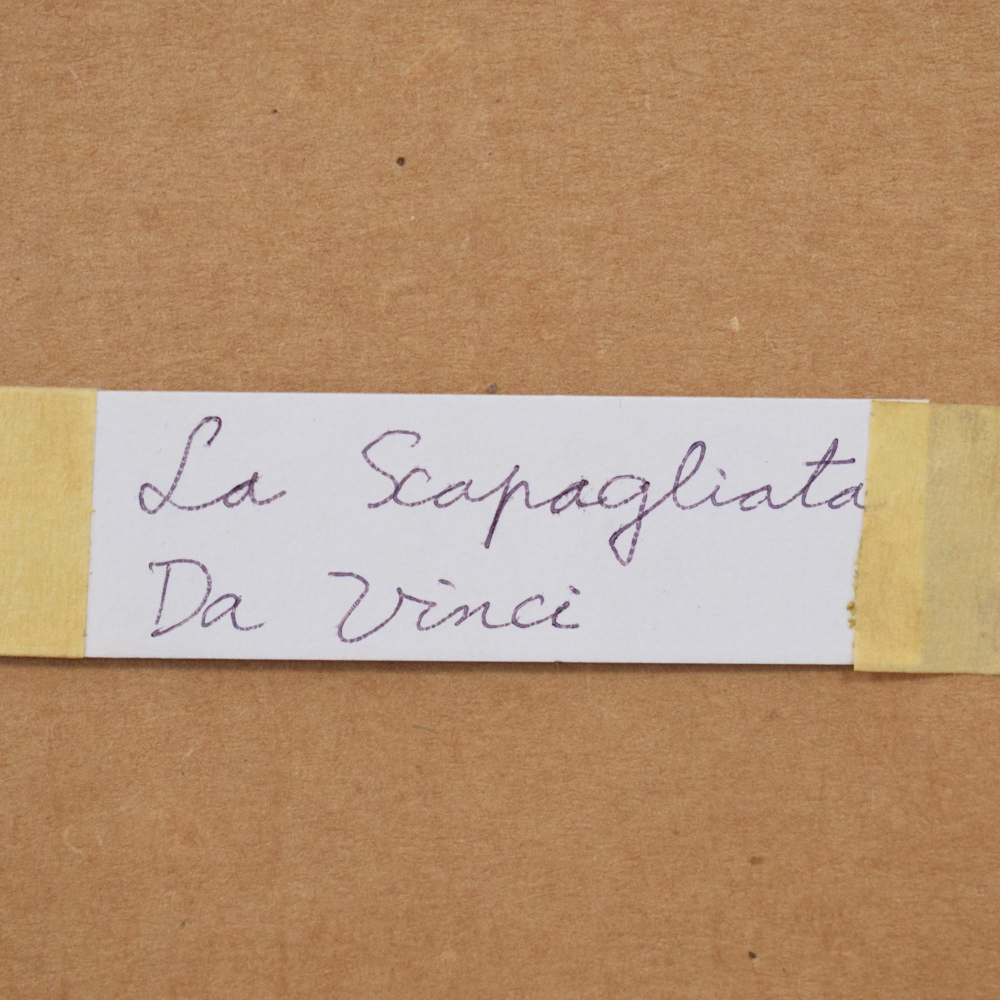 shop Framed La Scapaliata Da Vinci Wall Art  Wall Art