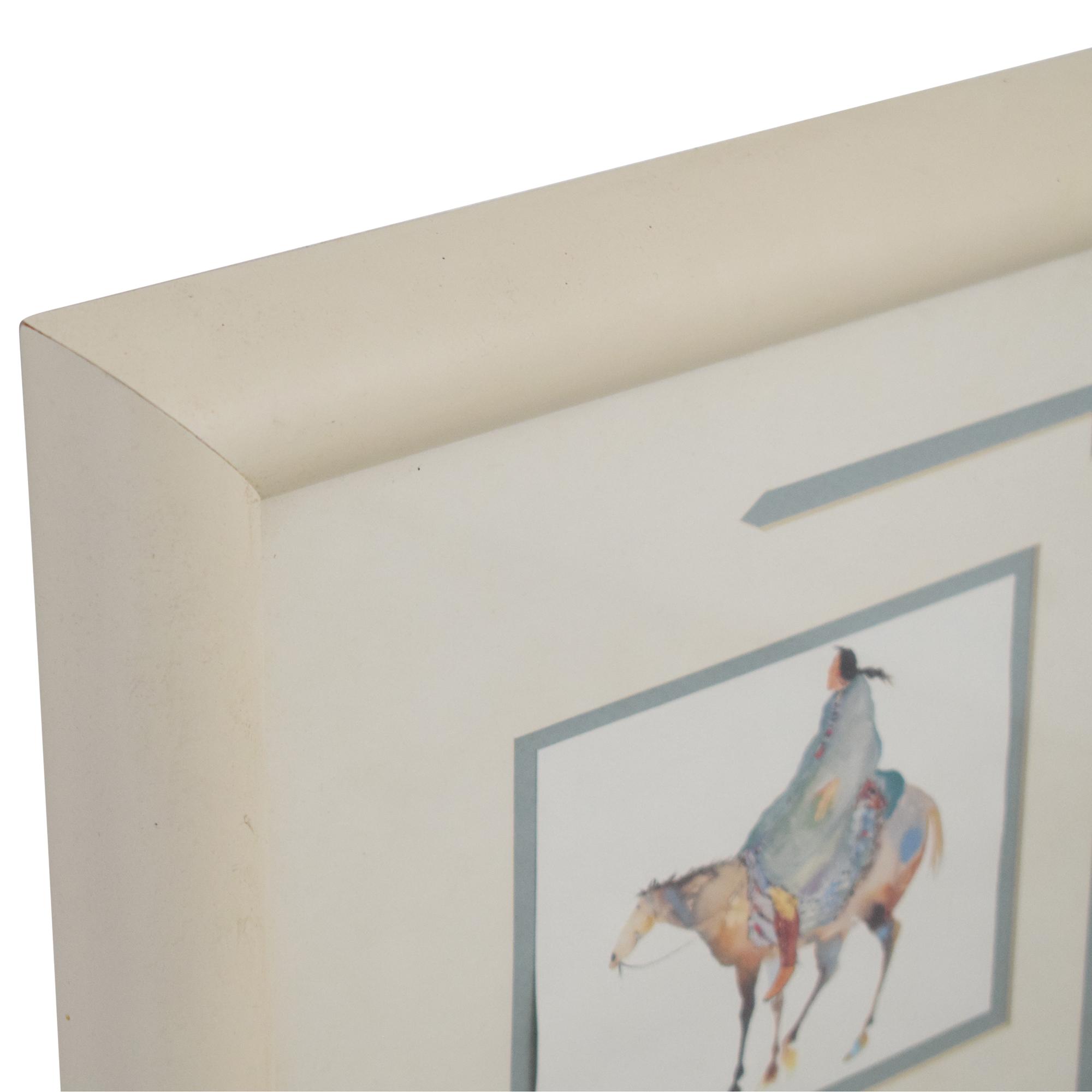 Framed Equestrian Wall Art nj