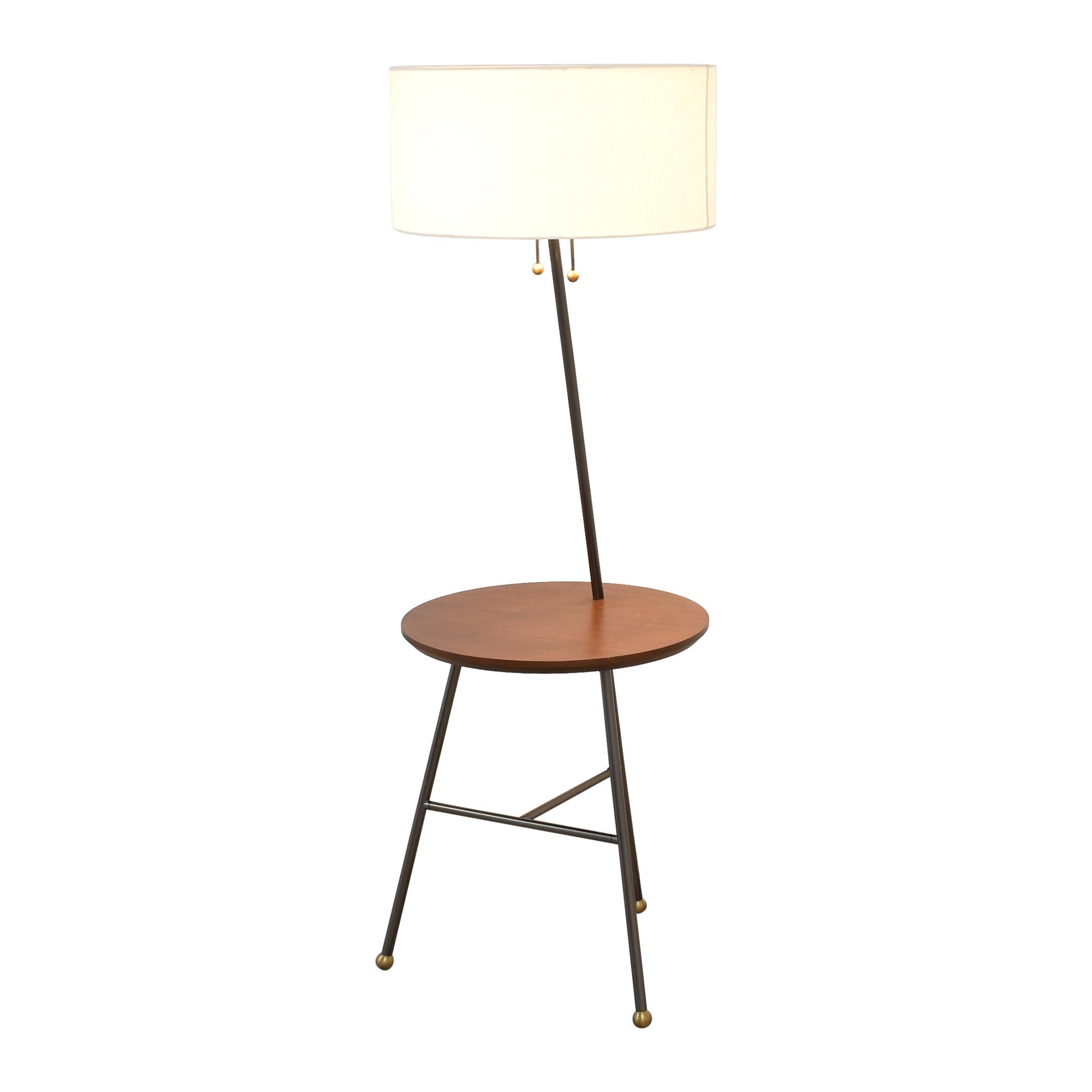 buy West Elm Duo Side Table Lamp West Elm