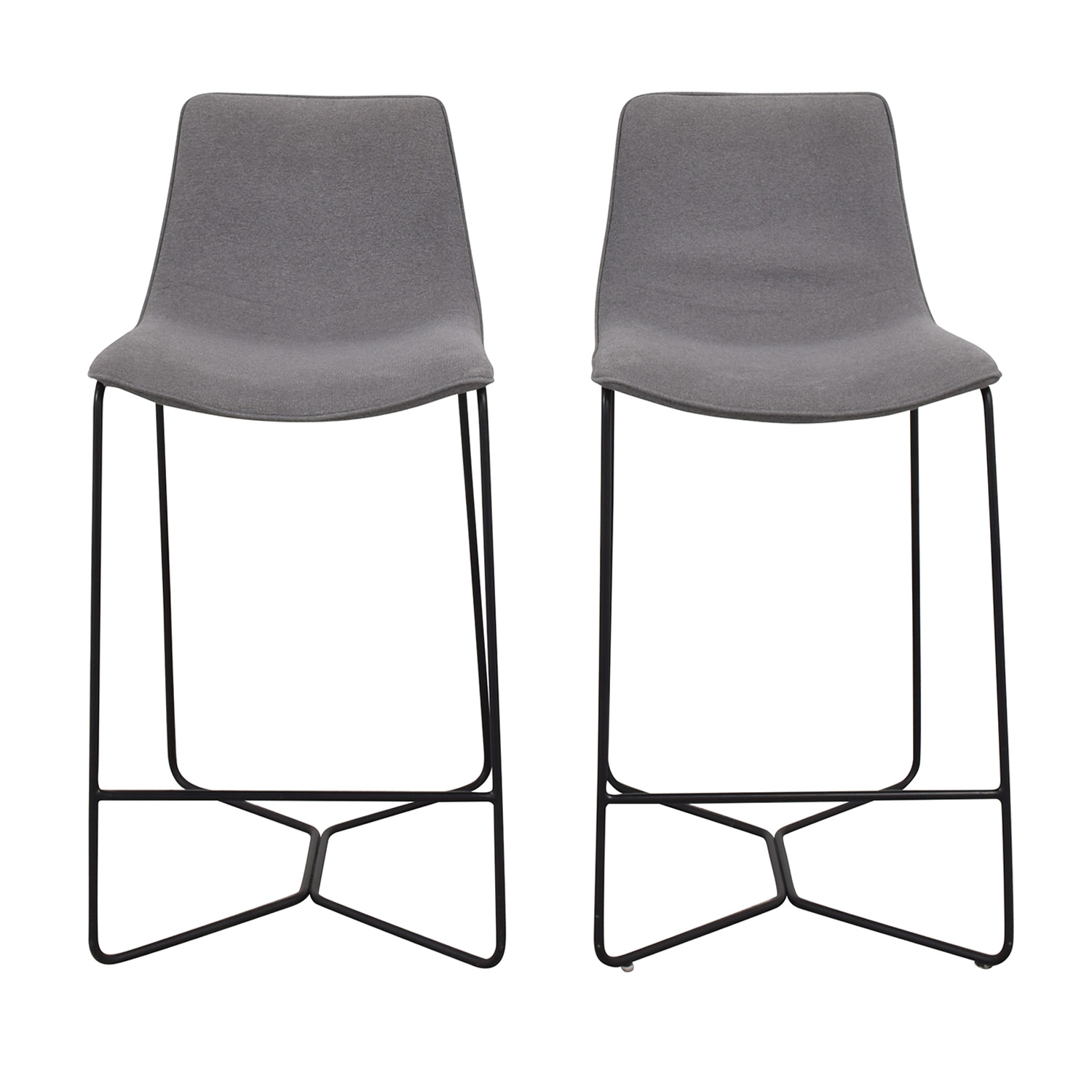 buy West Elm West Elm Slope Upholstered Counter Stools online