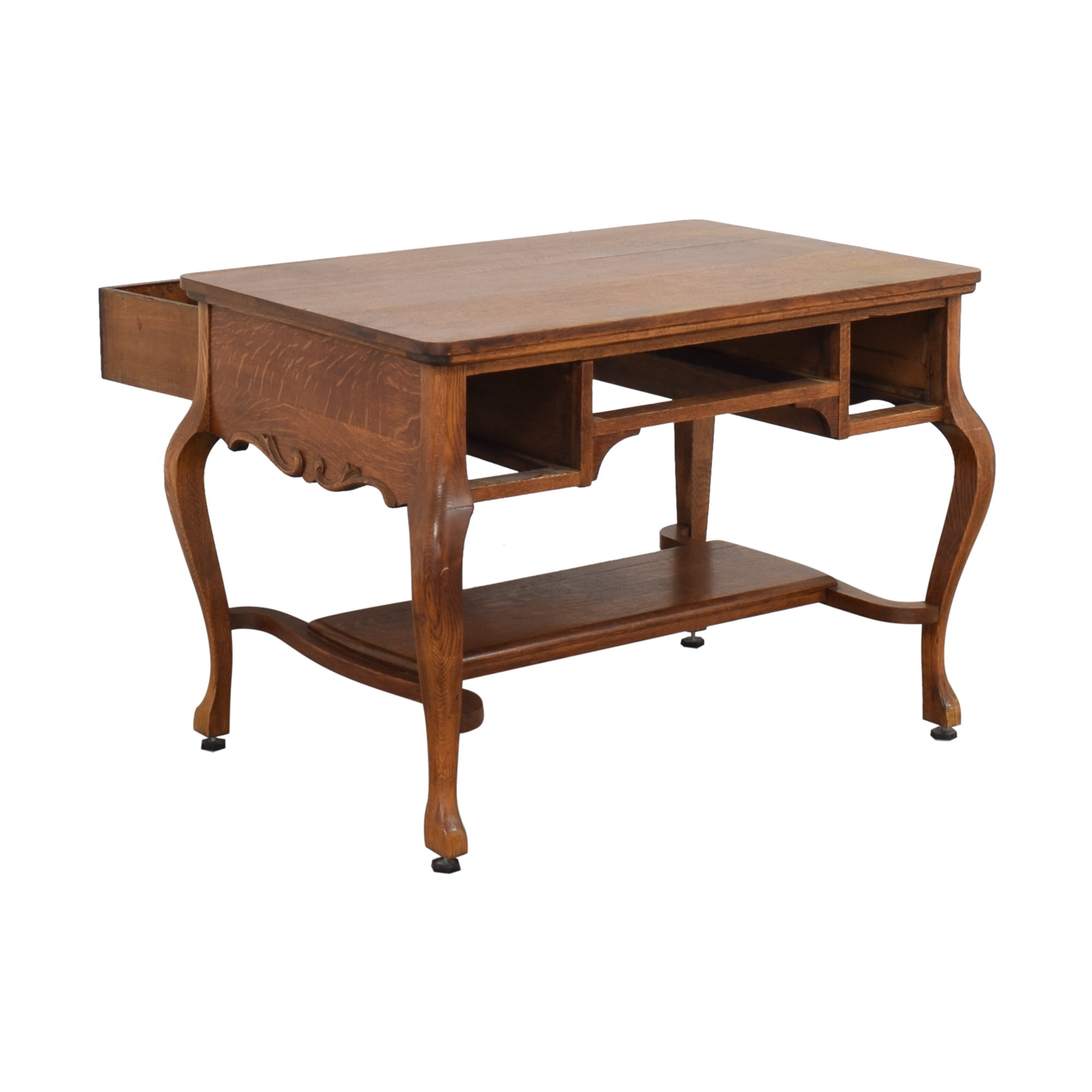 buy Vintage Desk With Drawers