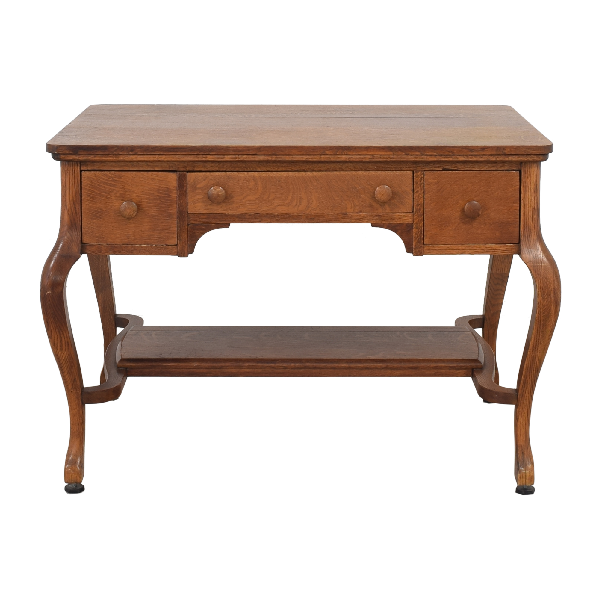 Vintage Desk With Drawers on sale
