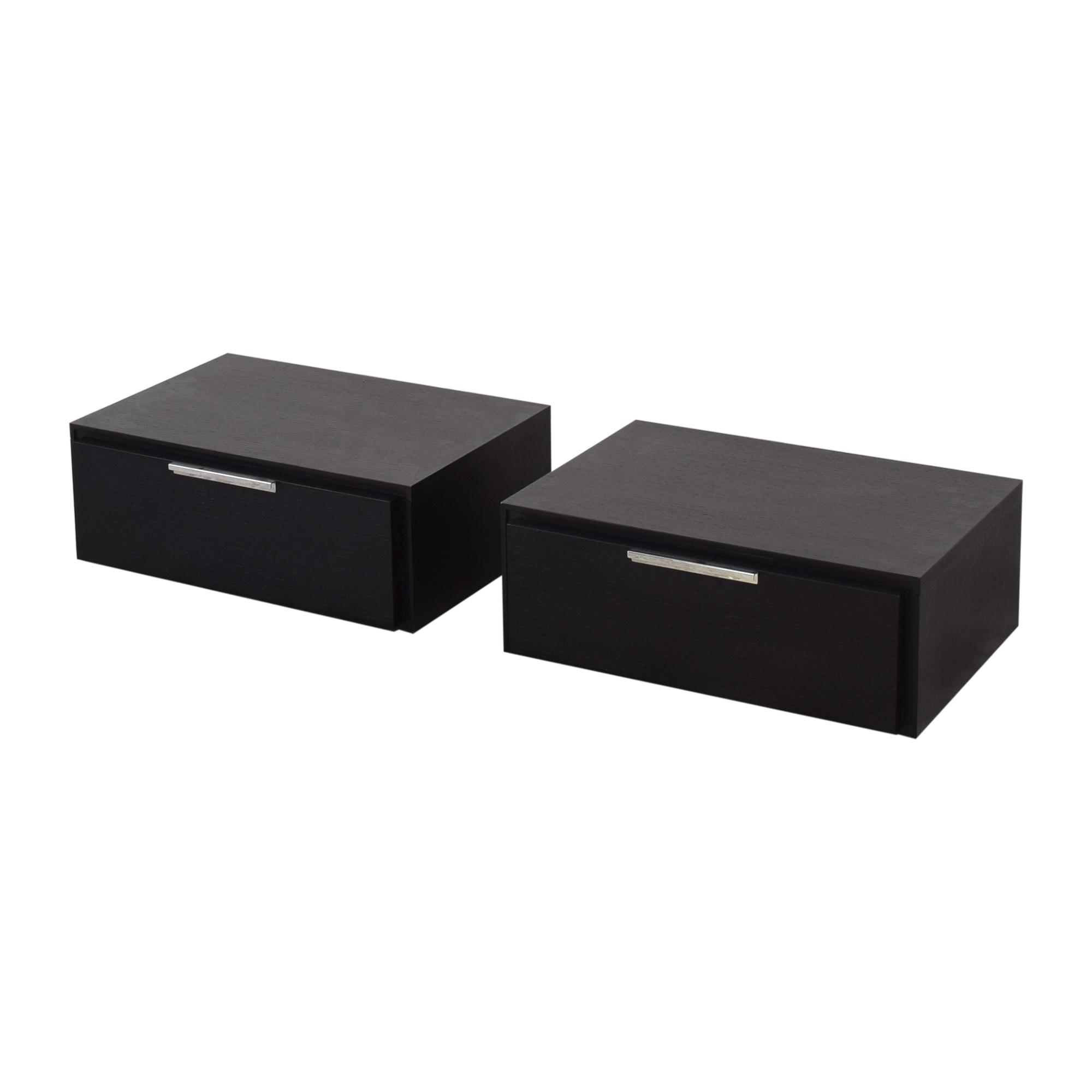 buy Modloft Thomspon Two-Drawer Nightstands Modloft End Tables