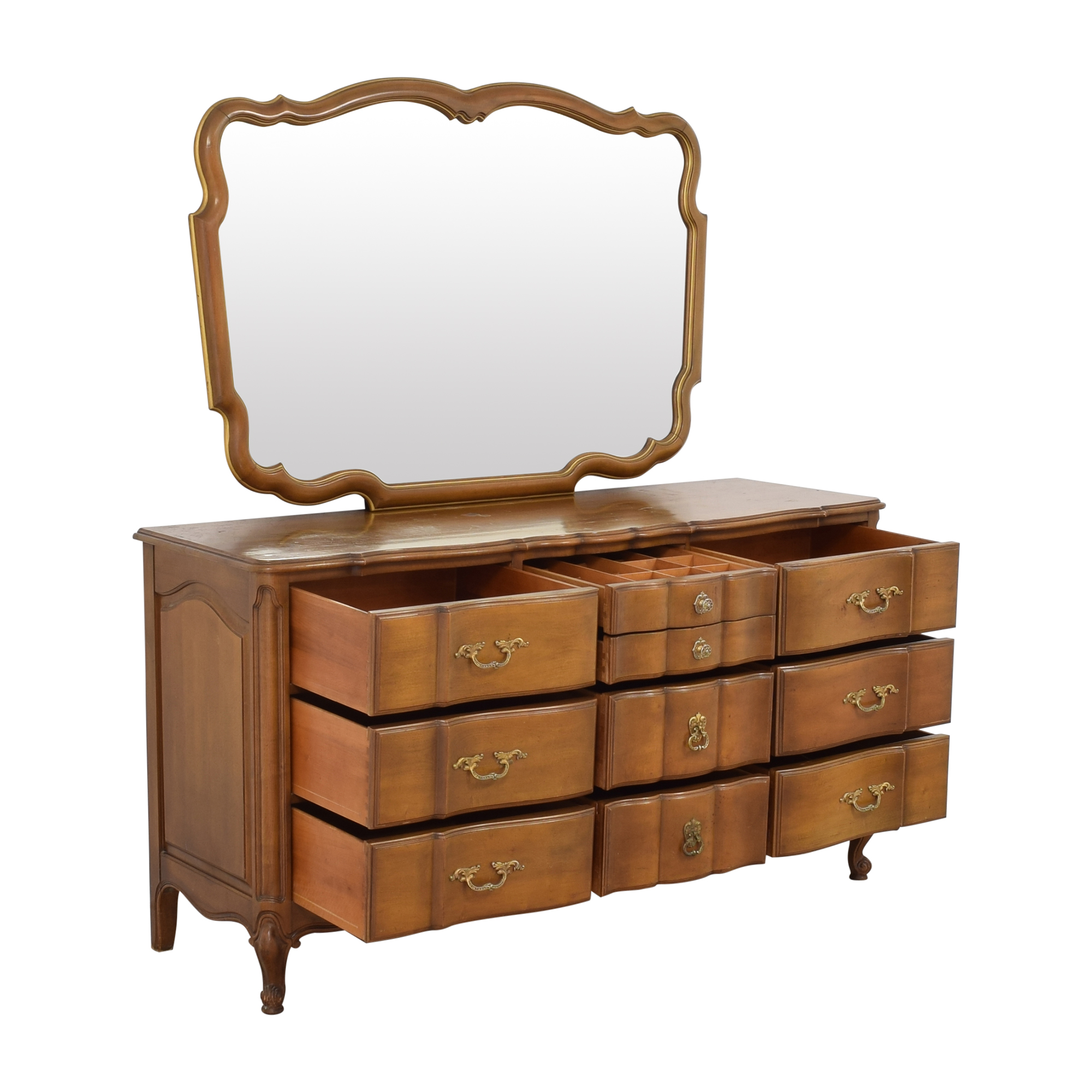 Orleans Collection Dresser with Mirror nj