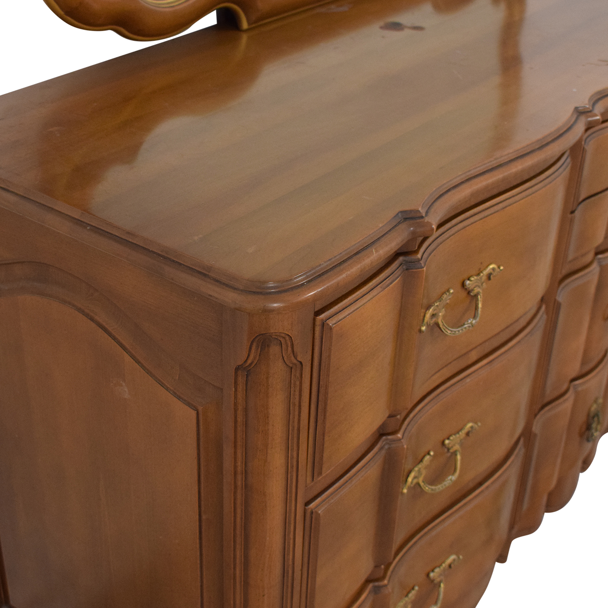Orleans Collection Dresser with Mirror sale