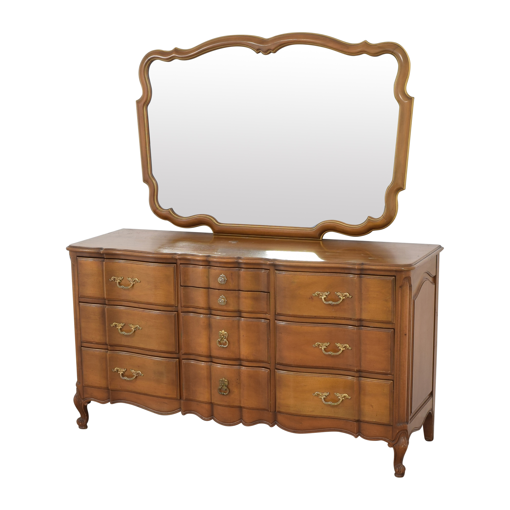 Orleans Collection Dresser with Mirror pa