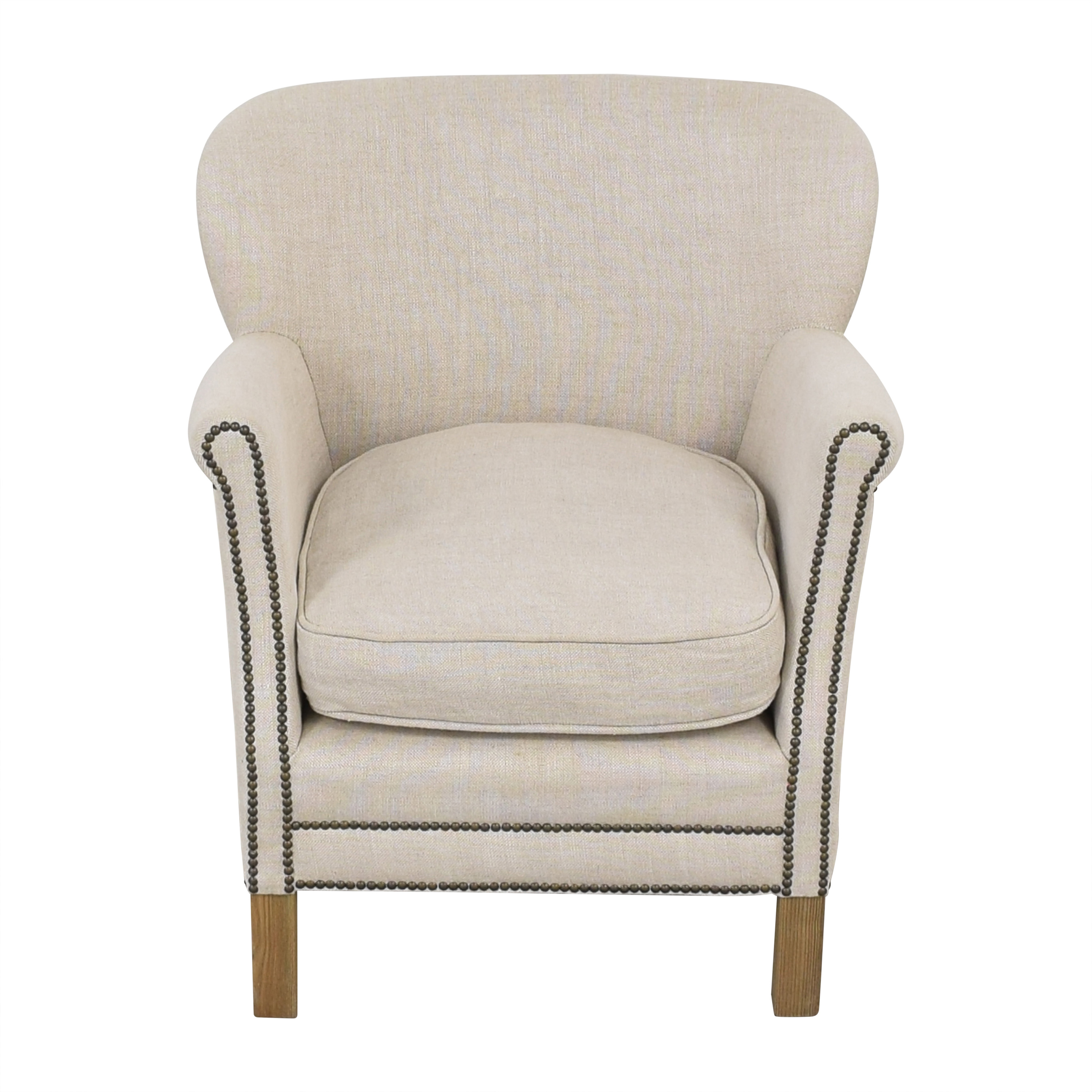 Restoration Hardware Professors Chair with Nailheads / Chairs