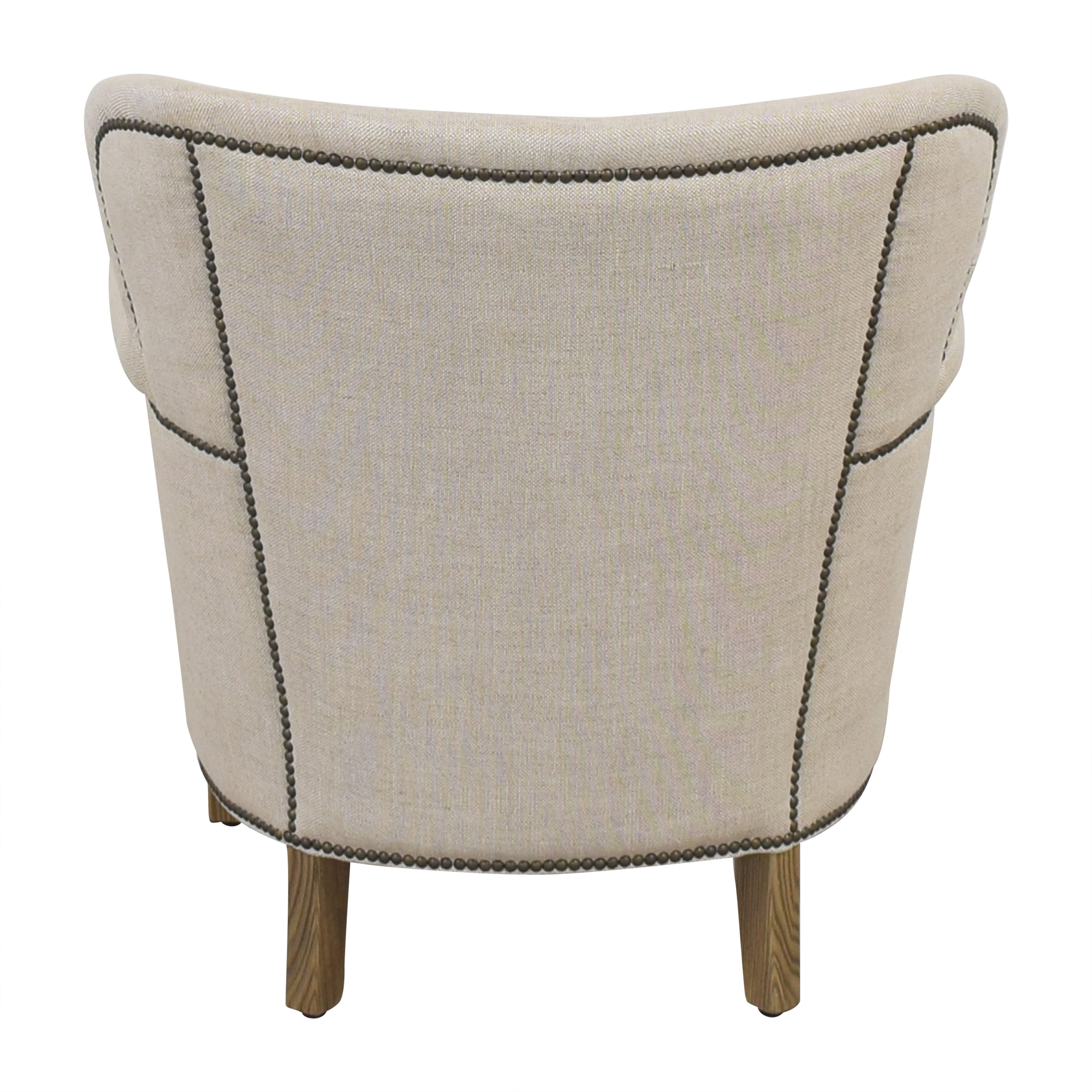 Restoration Hardware Restoration Hardware Professors Chair with Nailheads pa