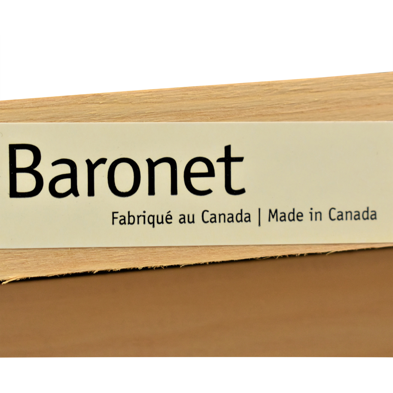 shop Crate & Barrel Crate & Barrel Baronet Full Bed online
