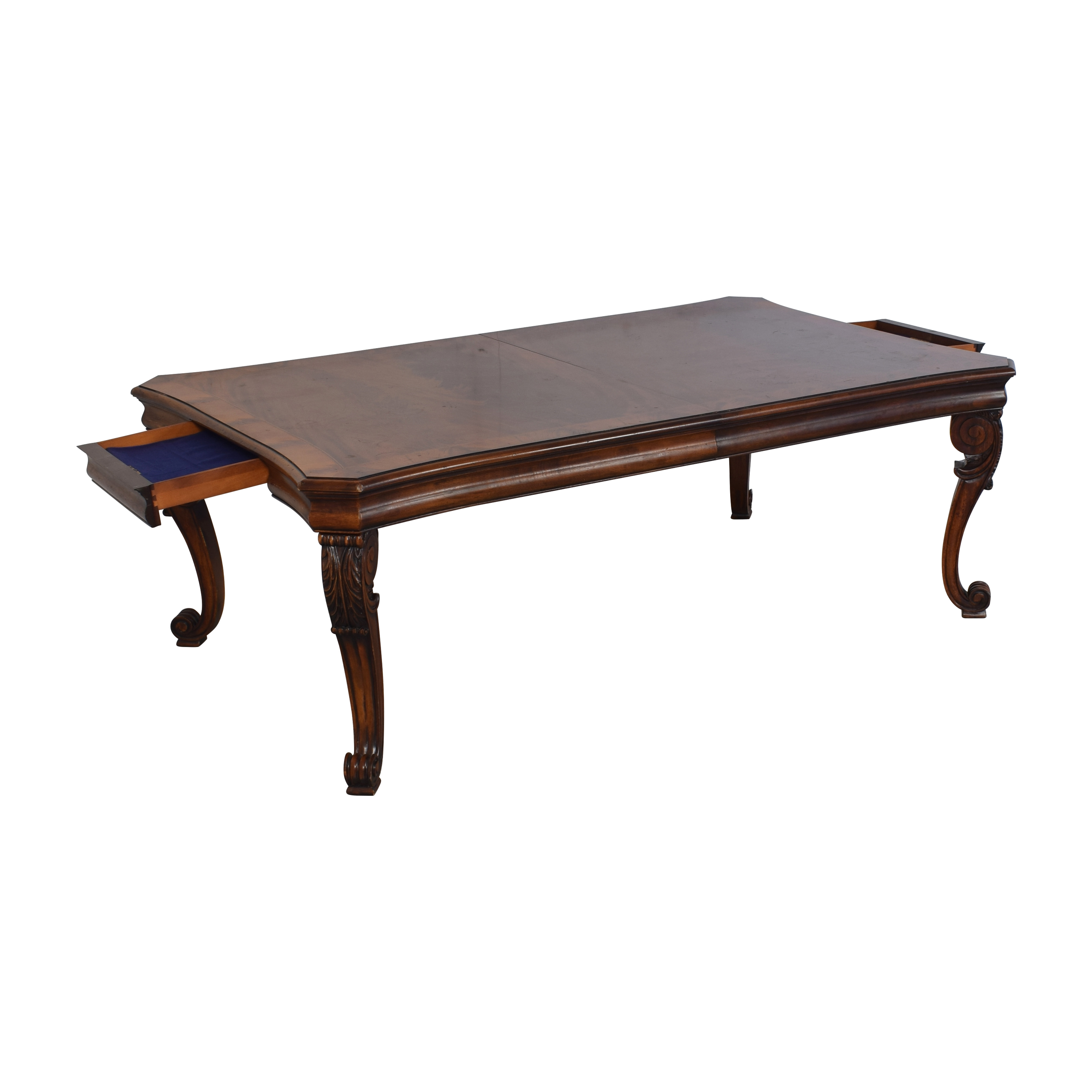 Ralph Lauren Home Beekman Mahogany Dining Table with Two Additional Leaves / Tables