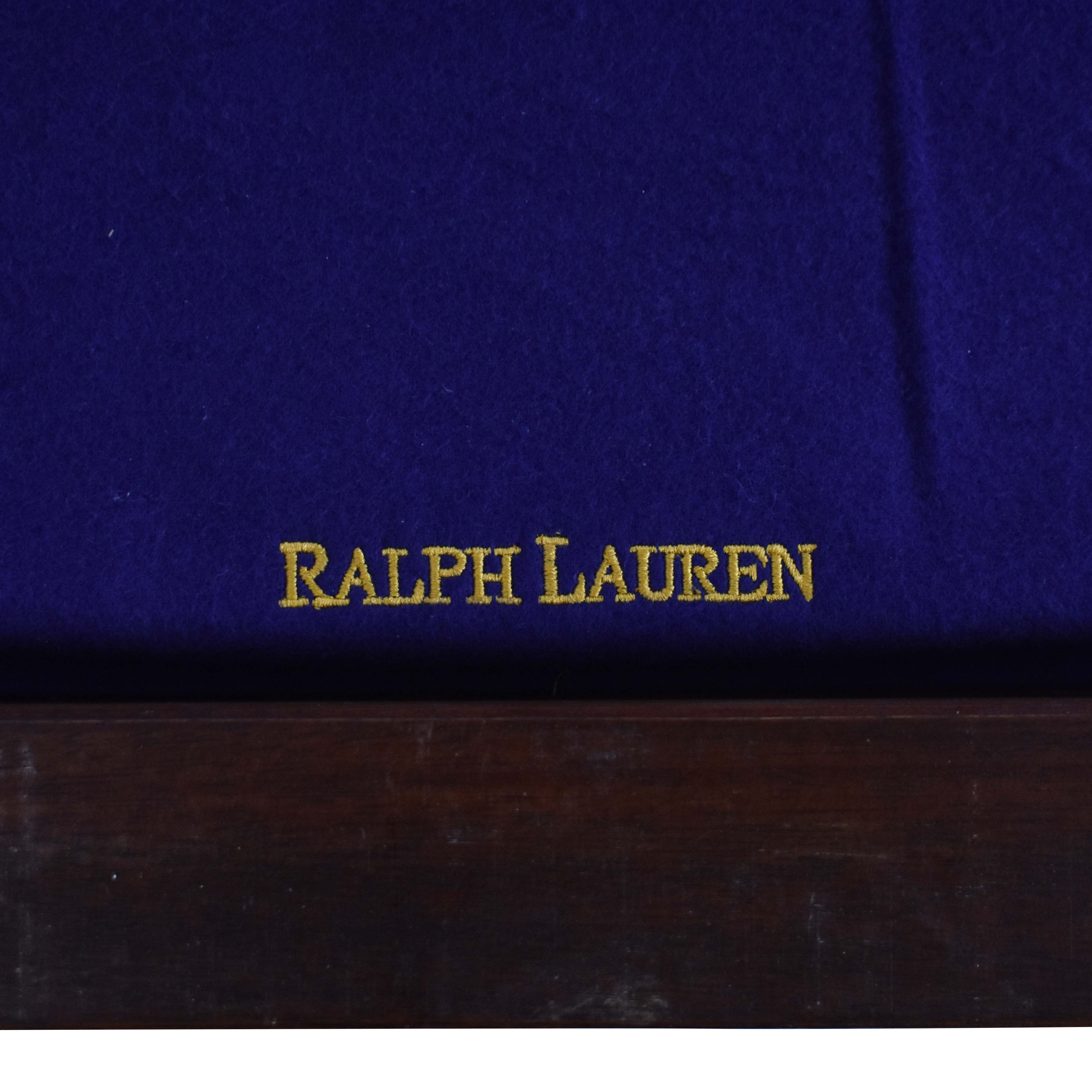 Ralph Lauren Home Ralph Lauren Home Beekman Mahogany Dining Table with Two Additional Leaves Dinner Tables