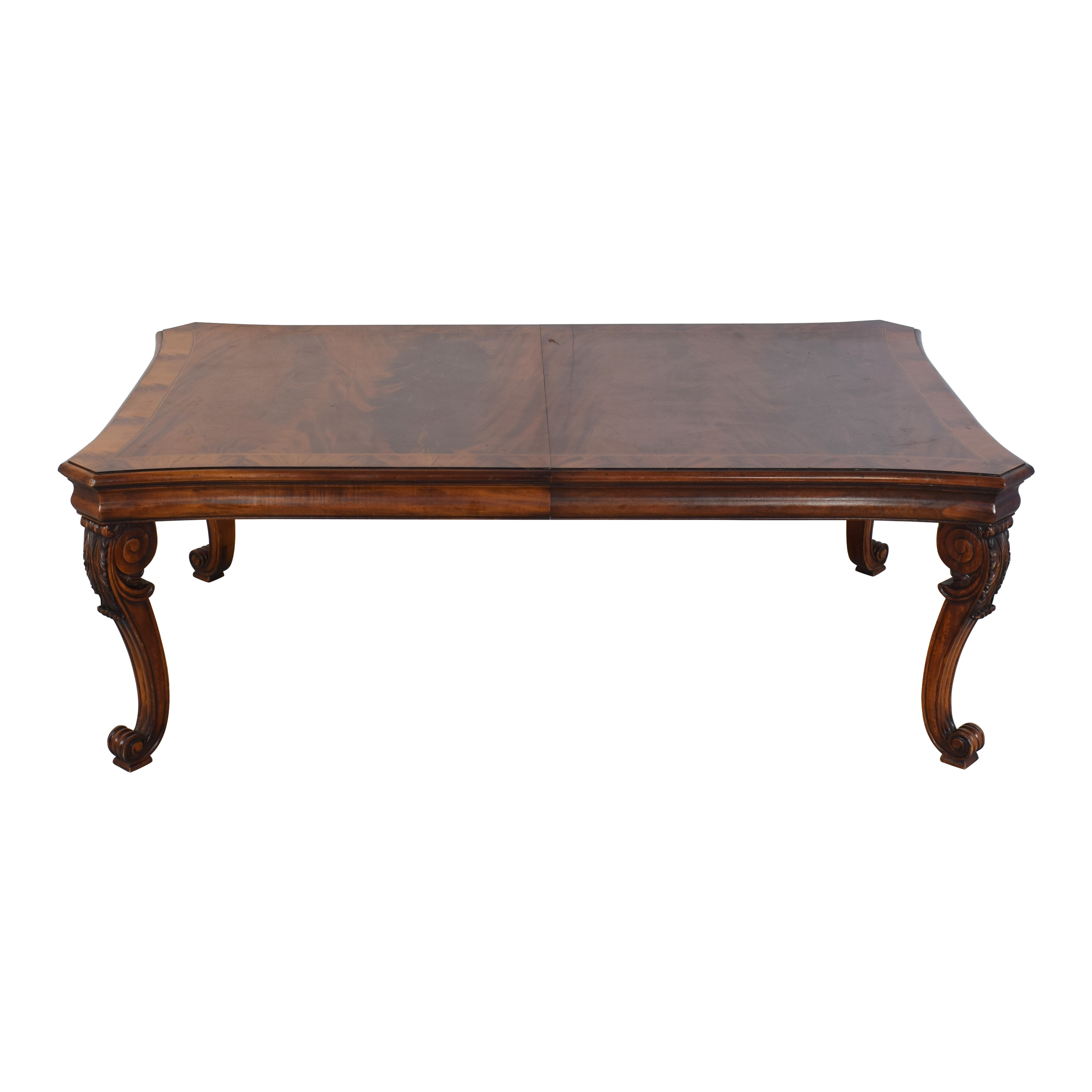 buy Ralph Lauren Home Beekman Mahogany Dining Table with Two Additional Leaves Ralph Lauren Home