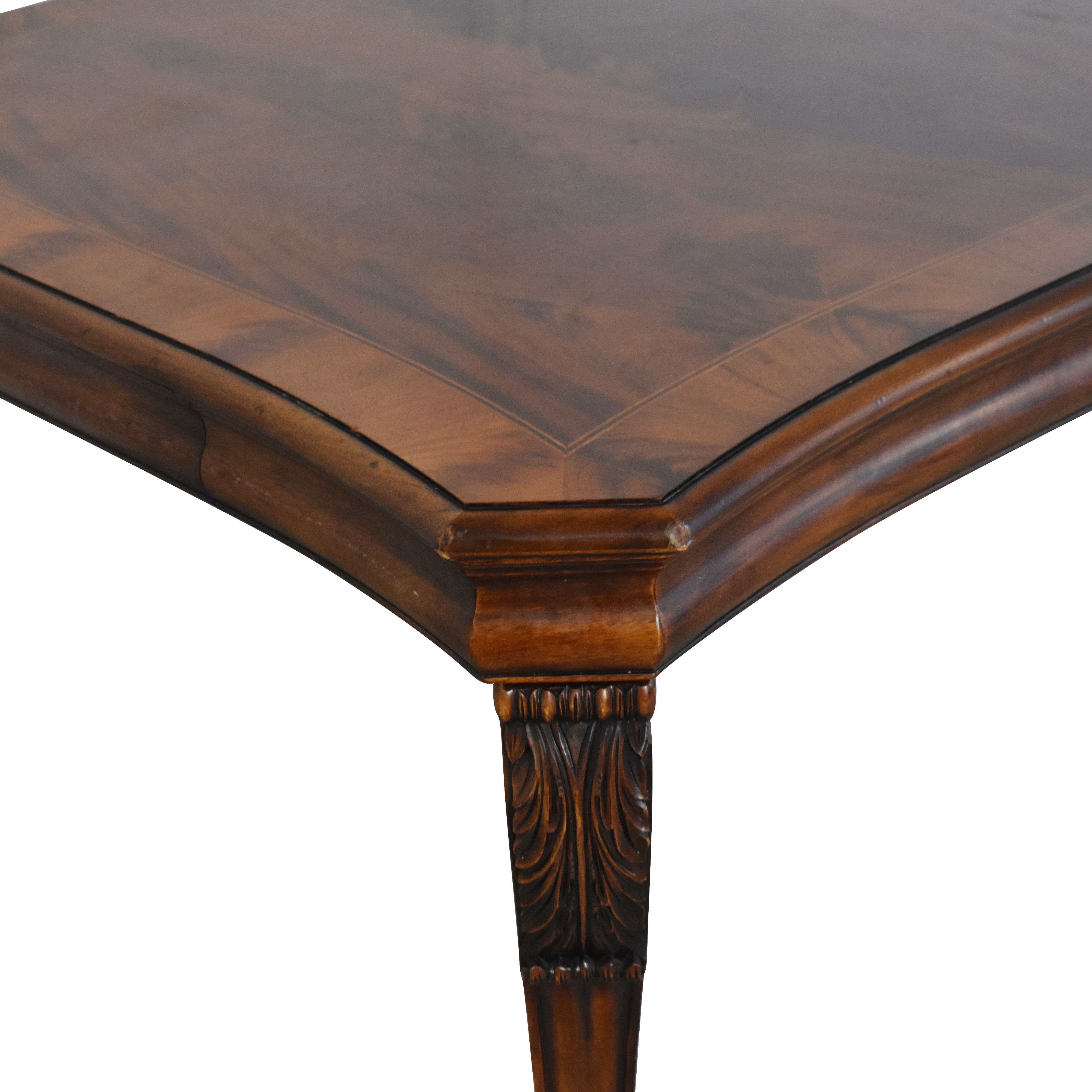 buy Ralph Lauren Home Beekman Mahogany Dining Table with Two Additional Leaves Ralph Lauren Home Tables