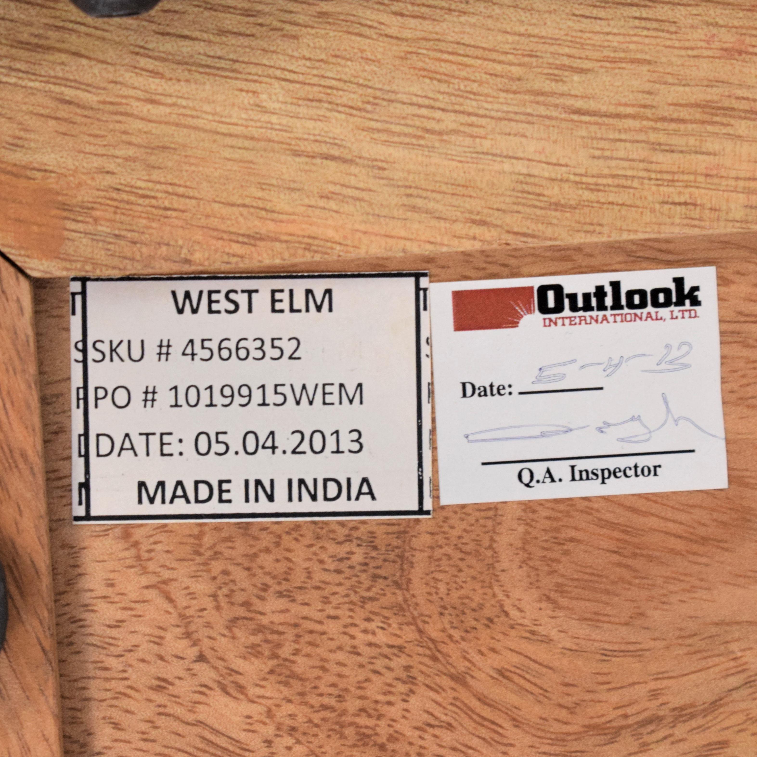 buy West Elm Industrial Storage Pop-Up Coffee Table West Elm Tables